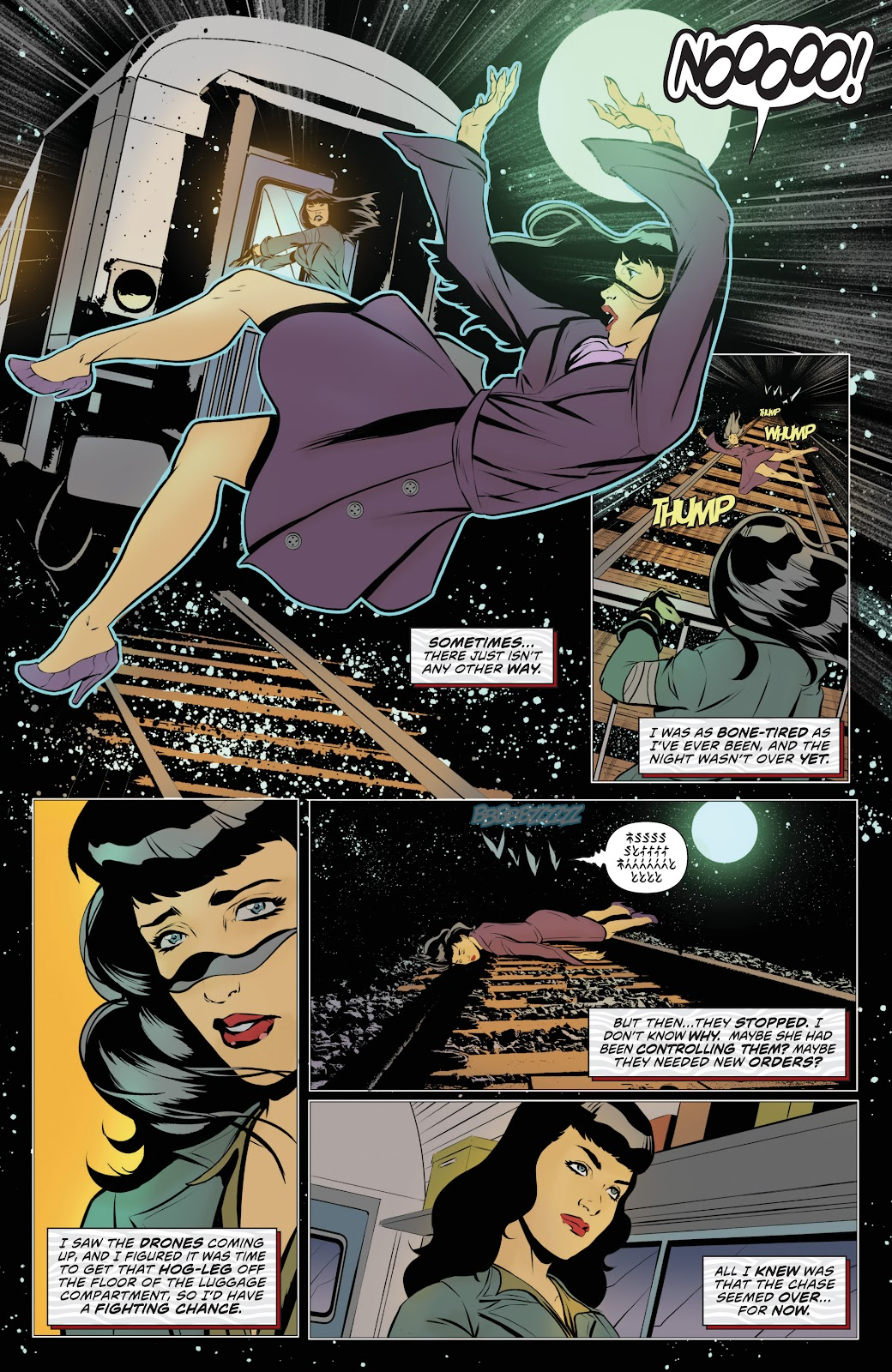 Read online Bettie Page: Unbound comic -  Issue #8 - 24