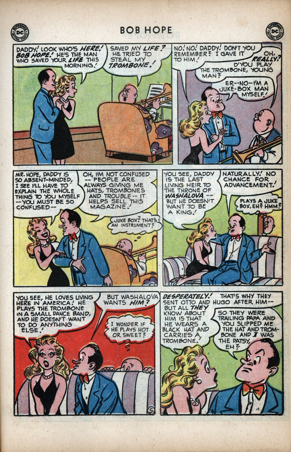 The Adventures of Bob Hope issue 11 - Page 15