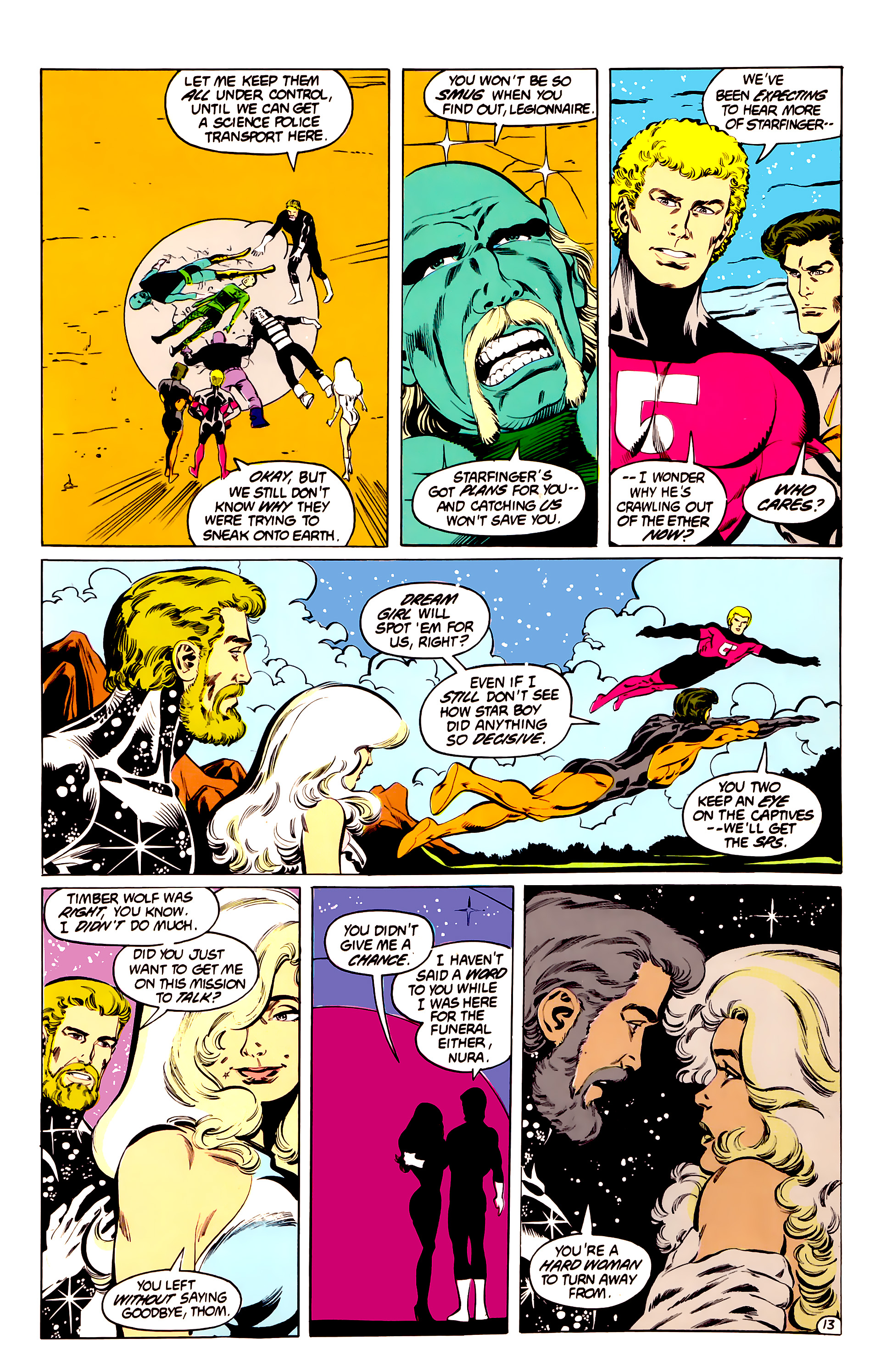 Legion of Super-Heroes (1984) 40 Page 13