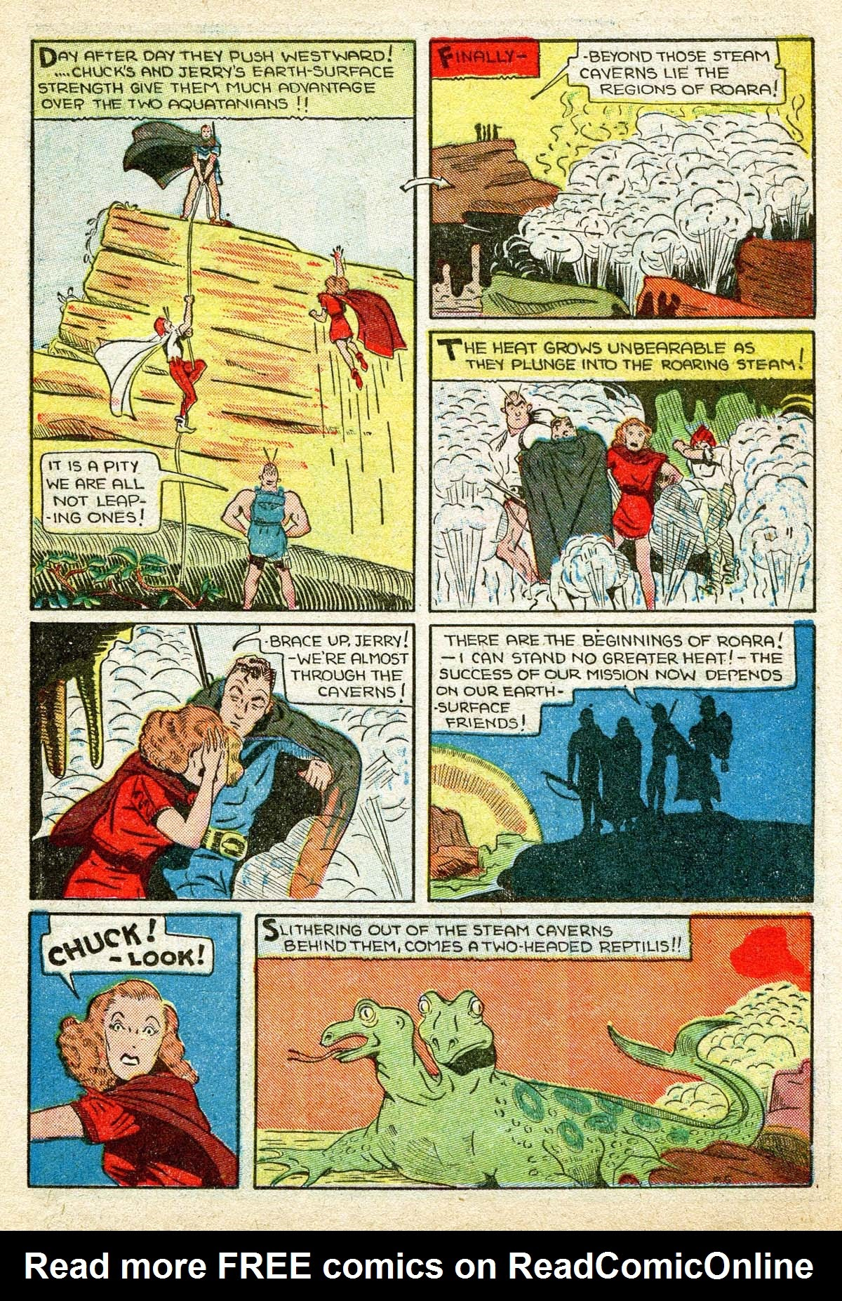 Read online Amazing Man Comics comic -  Issue #8 - 49