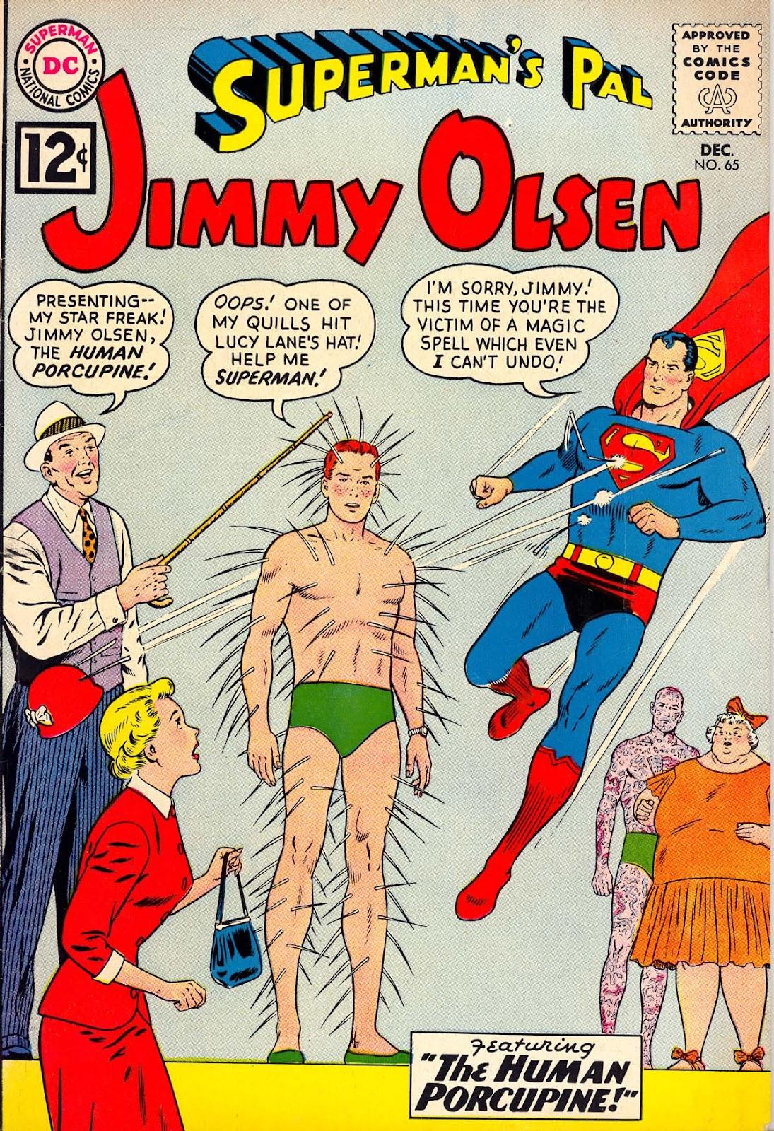 Supermans Pal Jimmy Olsen (1954) 65 Page 1