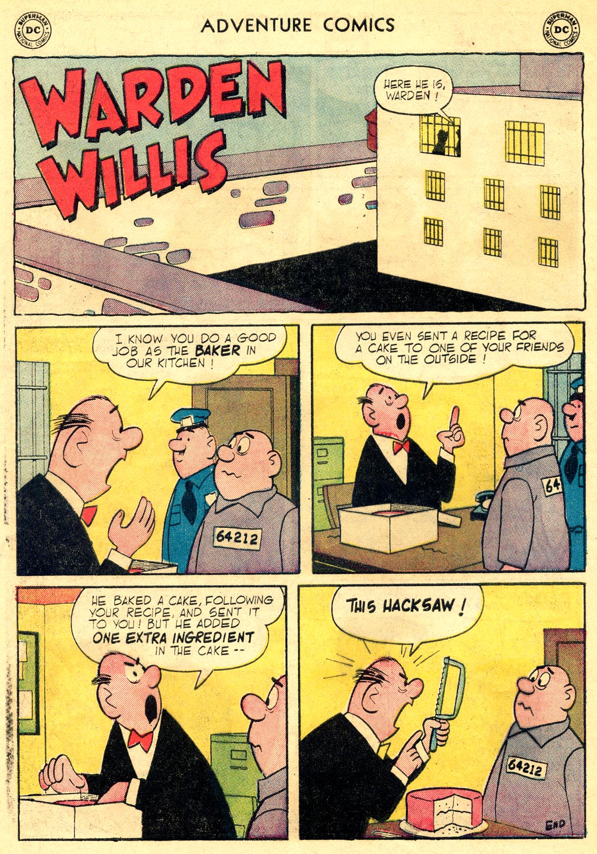 Read online Adventure Comics (1938) comic -  Issue #296 - 32