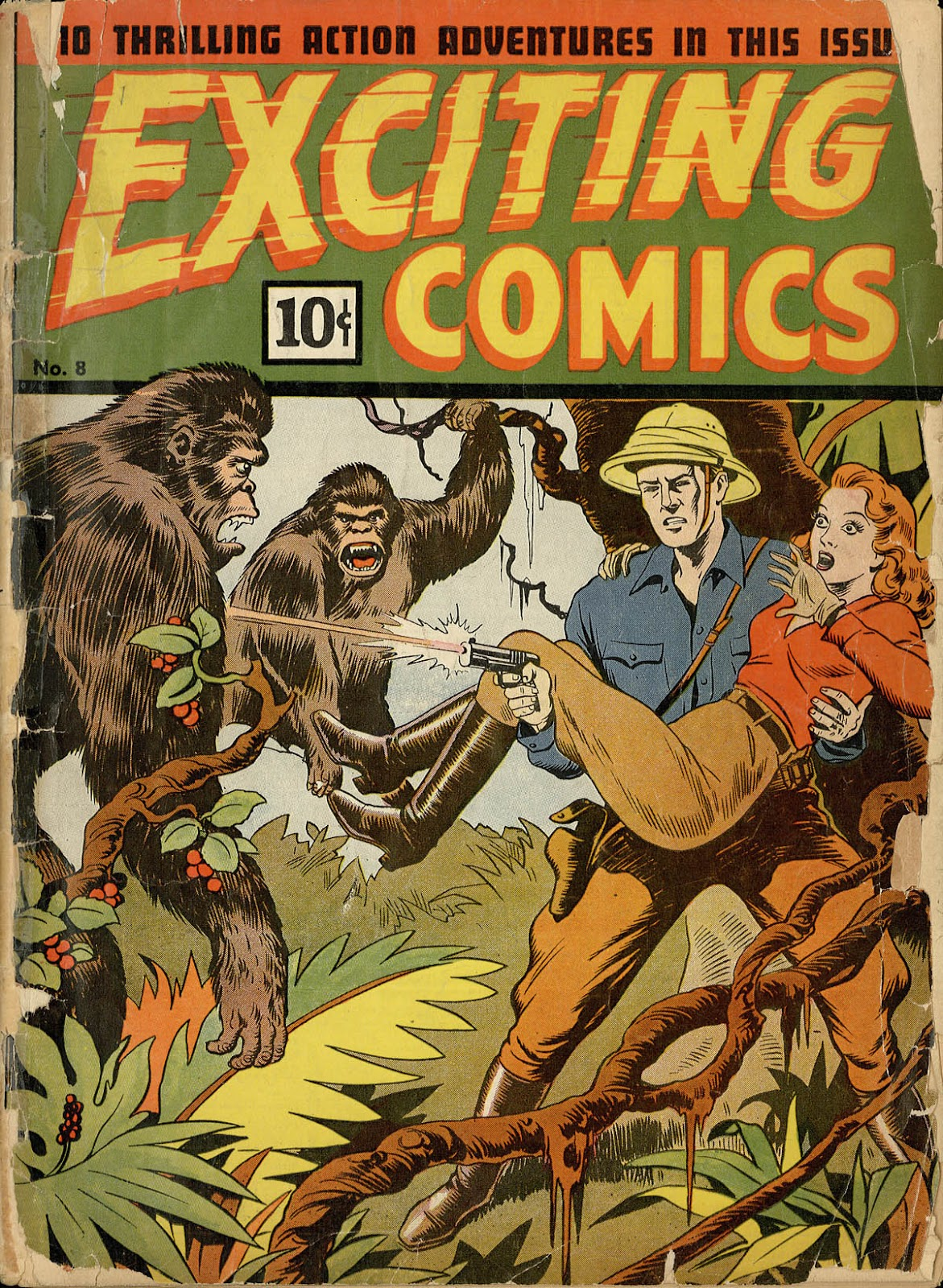 Exciting Comics (1940) 8 Page 1