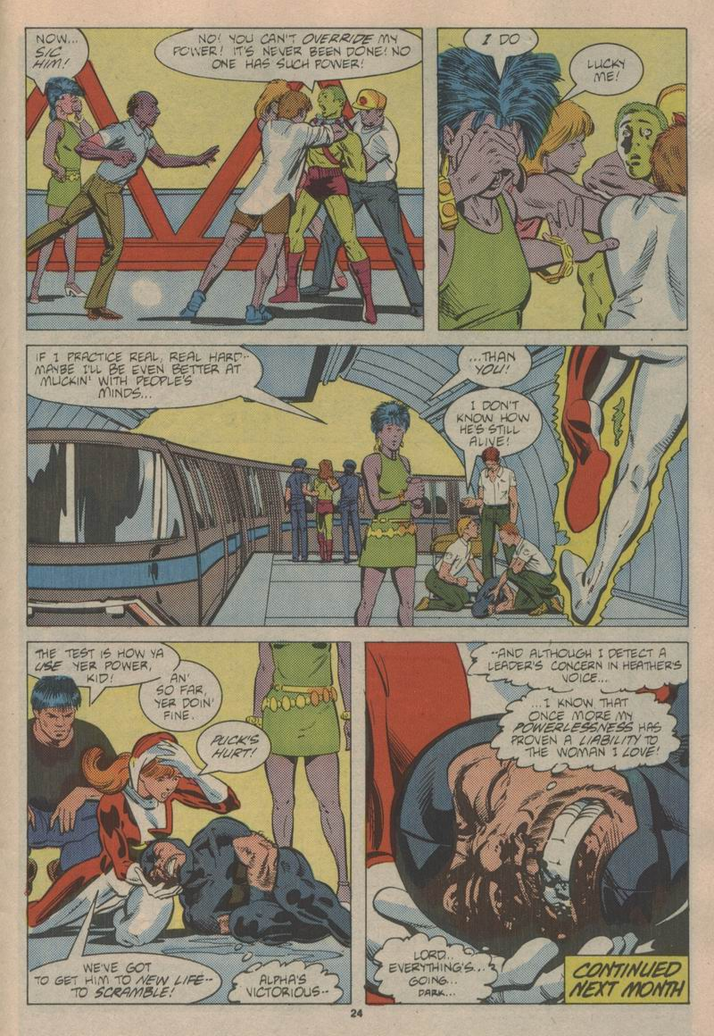 Read online Alpha Flight (1983) comic -  Issue #43 - 25