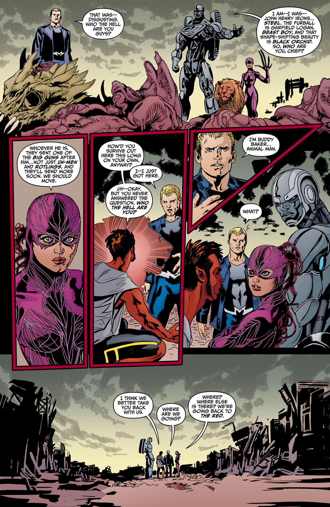 Read online Animal Man (2011) comic -  Issue #13 - 8