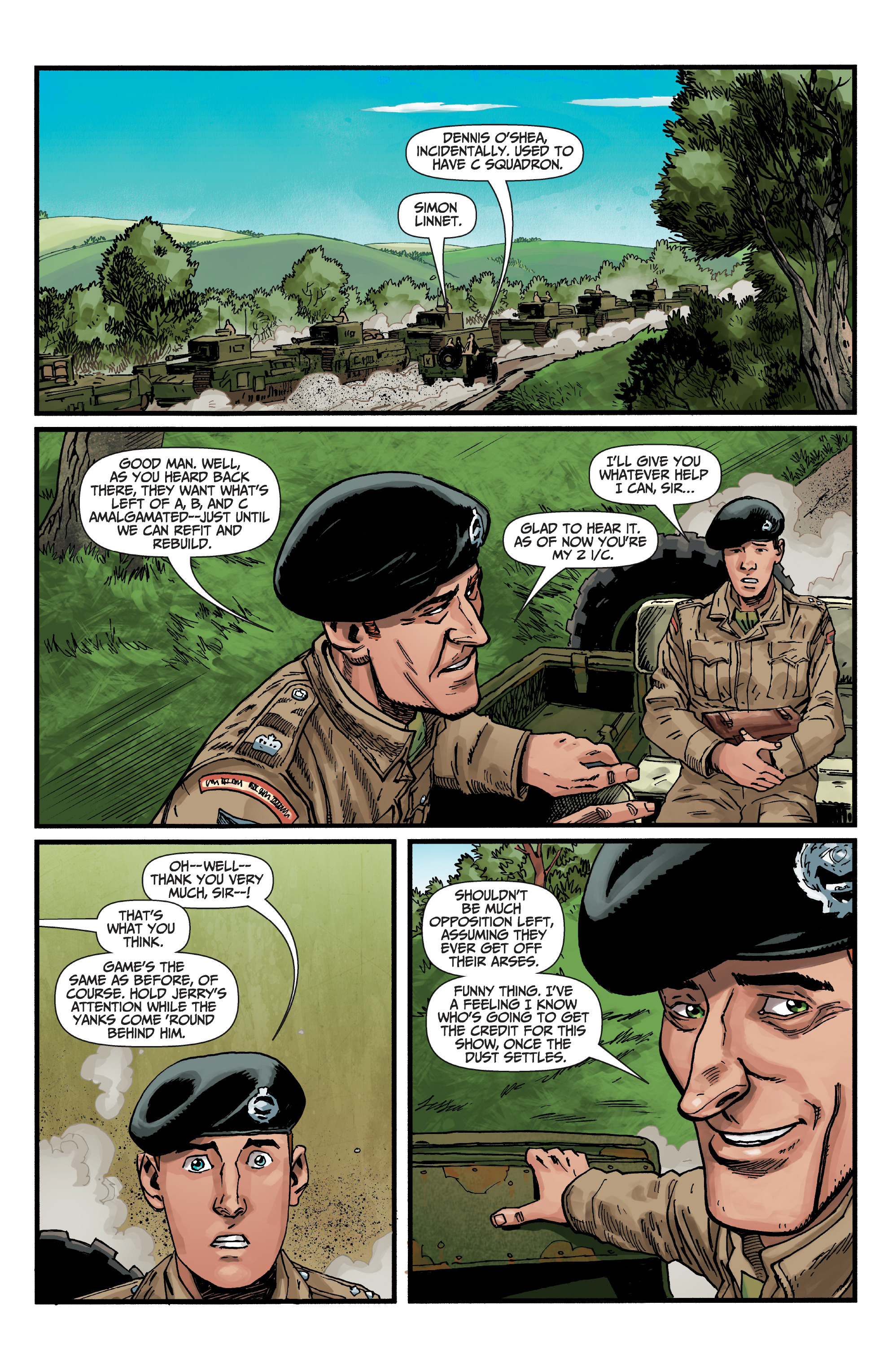 Read online World of Tanks comic -  Issue #5 - 3