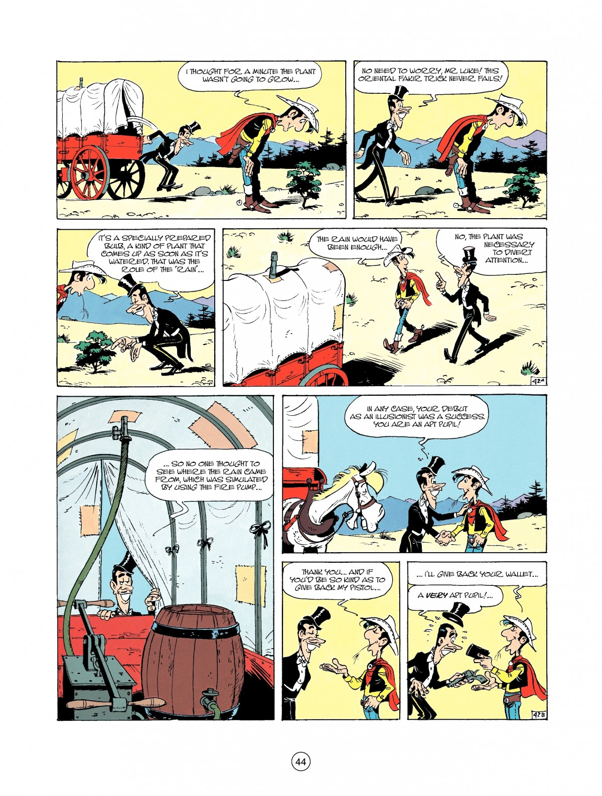 Read online A Lucky Luke Adventure comic -  Issue #37 - 44