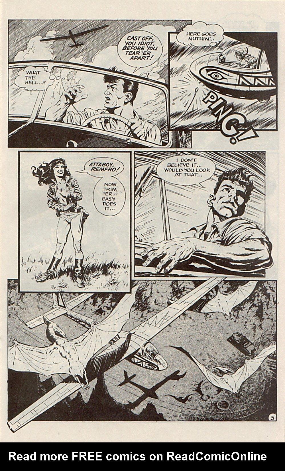Read online Xenozoic Tales comic -  Issue #6 - 17