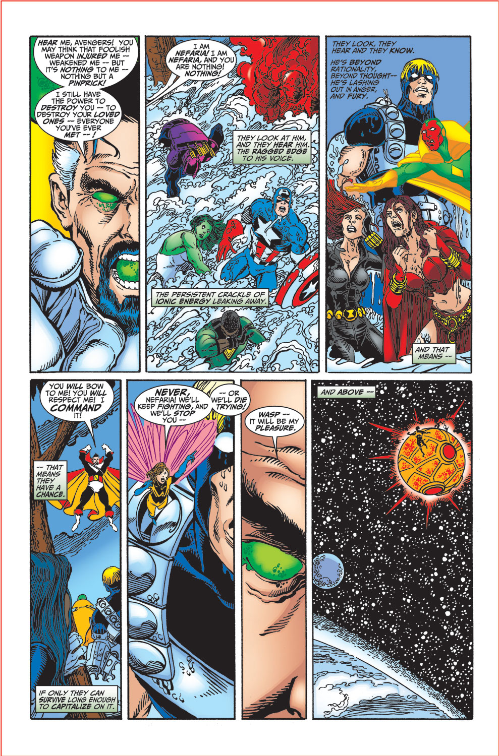 Read online Avengers (1998) comic -  Issue #34 - 27