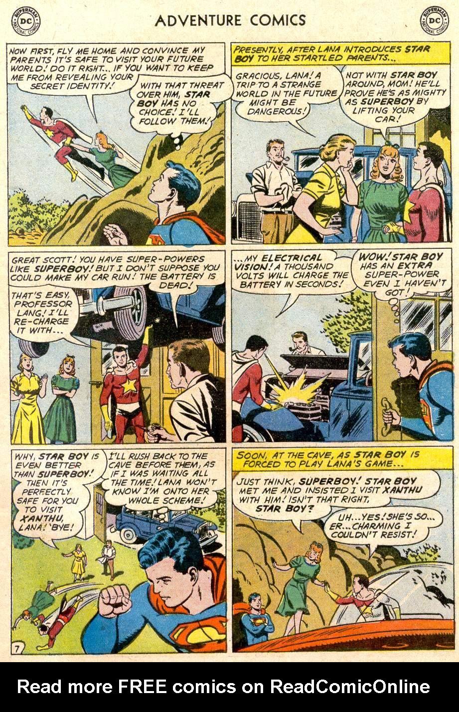 Read online Adventure Comics (1938) comic -  Issue #282 - 9