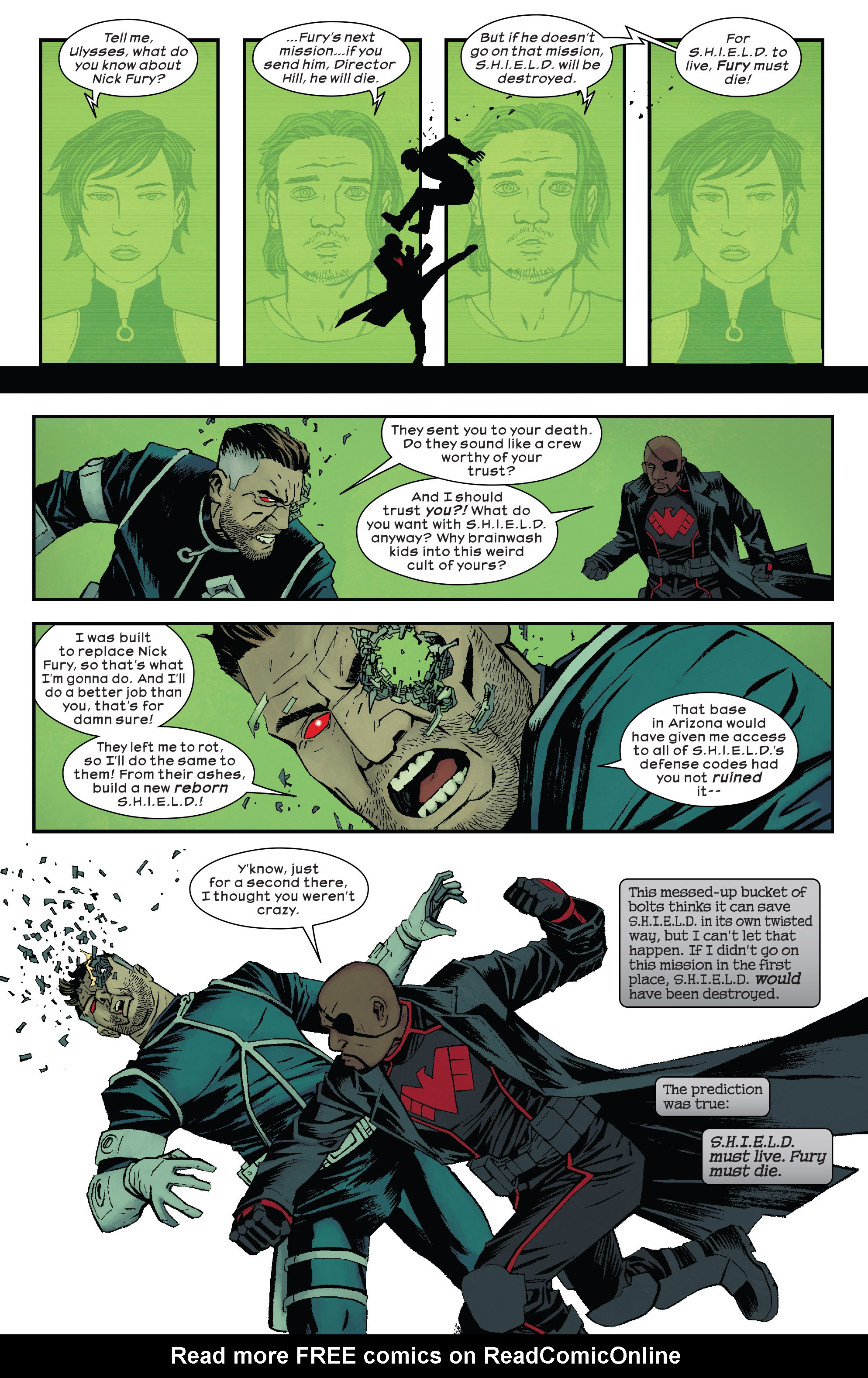 Read online Civil War II: Choosing Sides comic -  Issue #5 - 21