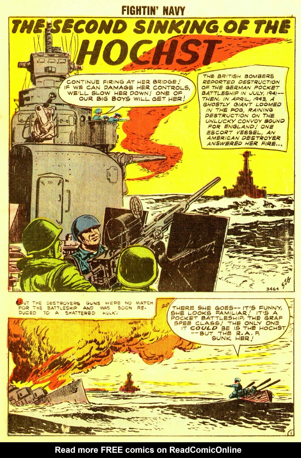 Read online Fightin' Navy comic -  Issue #83 - 3