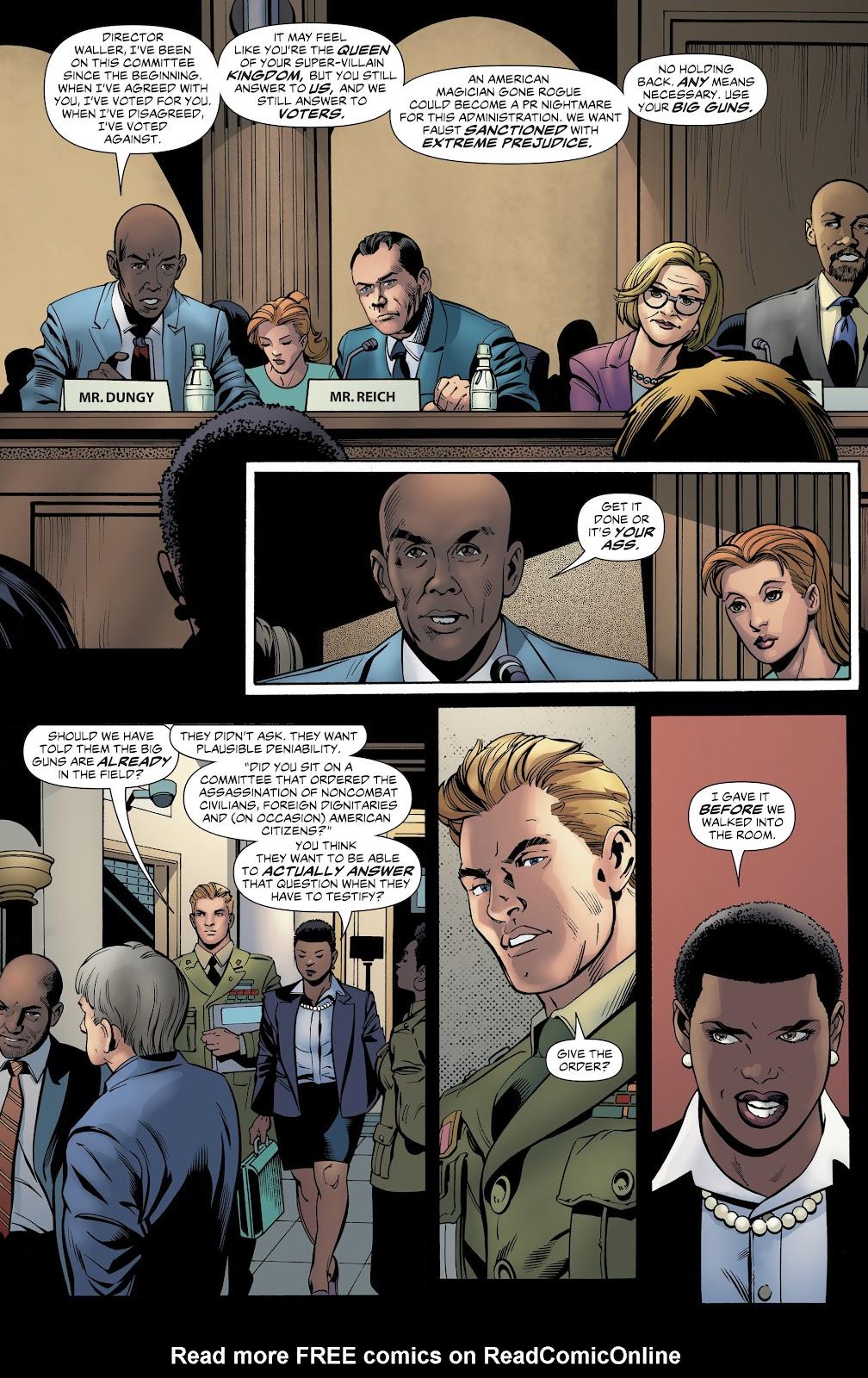 Read online Suicide Squad Black Files comic -  Issue #4 - 25