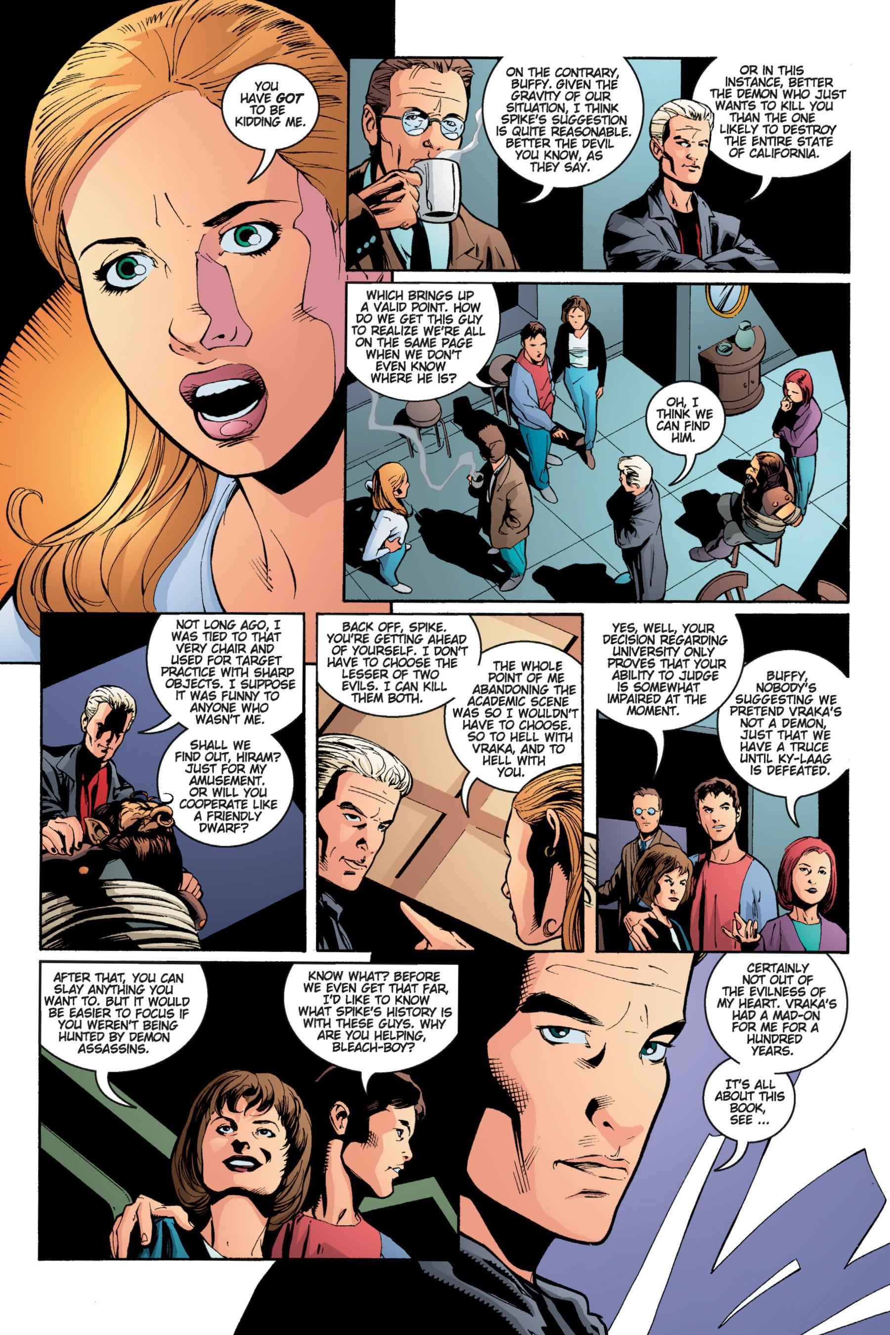 Read online Buffy the Vampire Slayer: Omnibus comic -  Issue # TPB 5 - 185