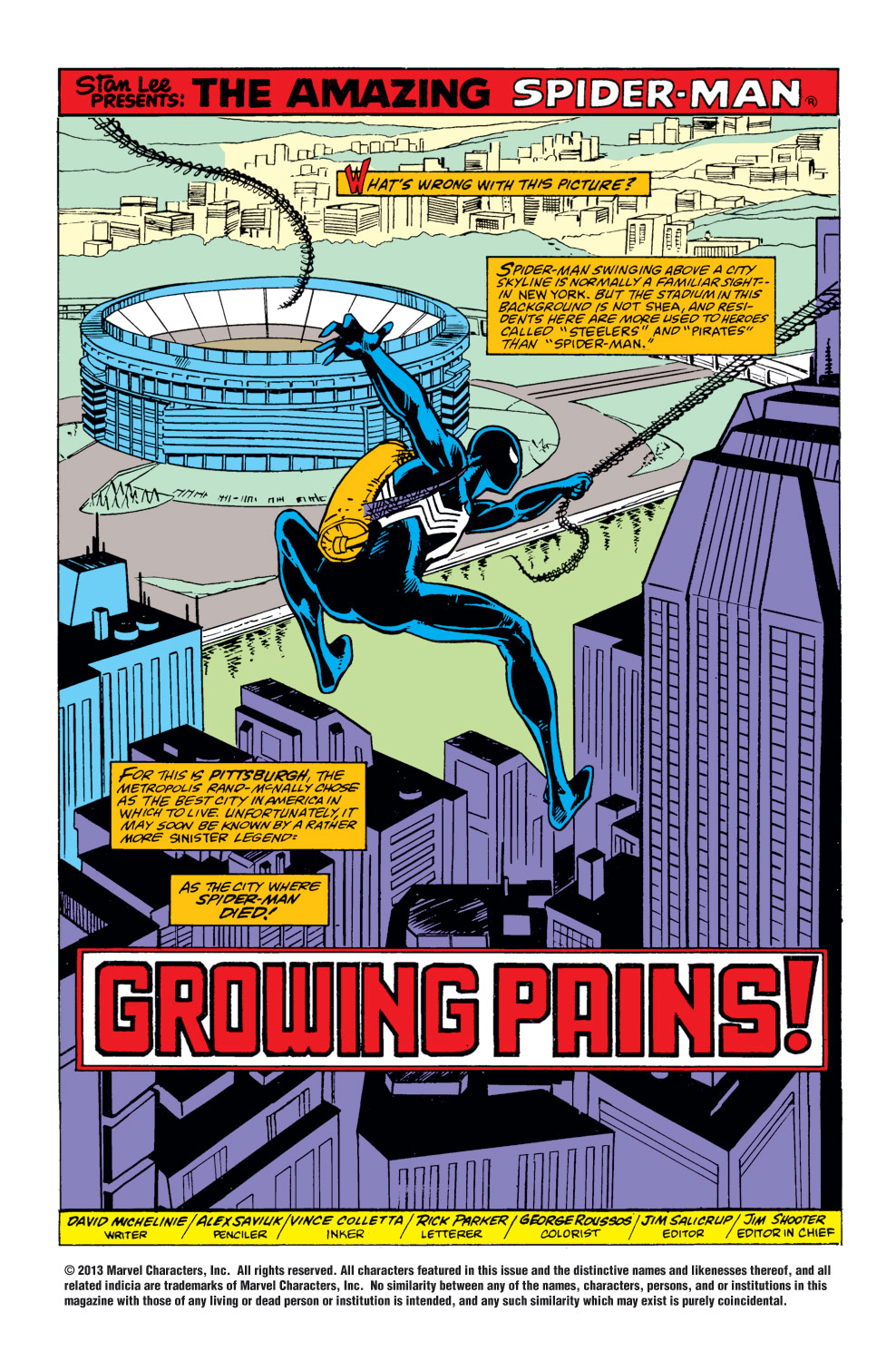 The Amazing Spider-Man (1963) 292 Page 1