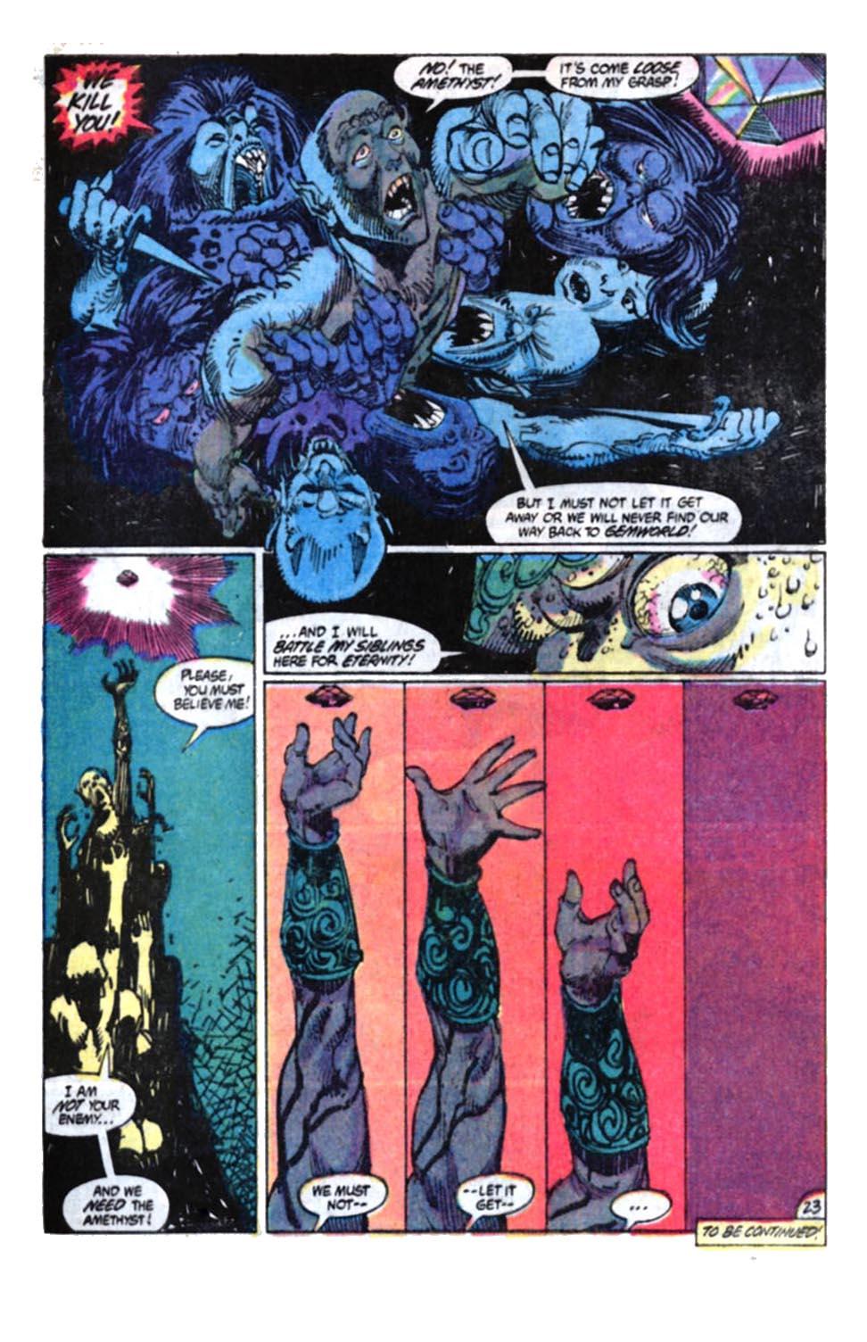 Read online Amethyst, Princess of Gemworld comic -  Issue #4 - 23