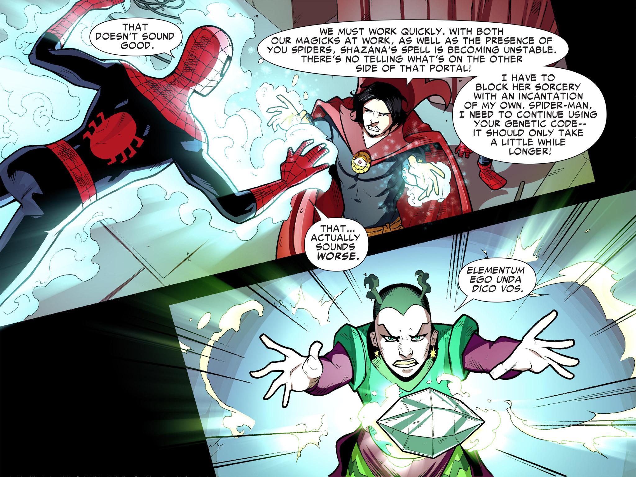 Read online Ultimate Spider-Man (Infinite Comics) (2016) comic -  Issue #9 - 35