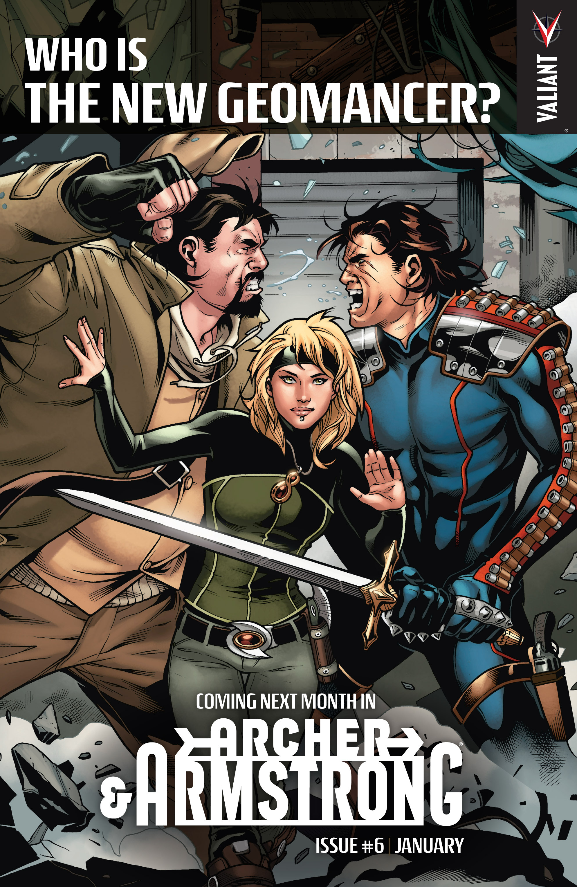 Read online Archer and Armstrong comic -  Issue #5 - 24