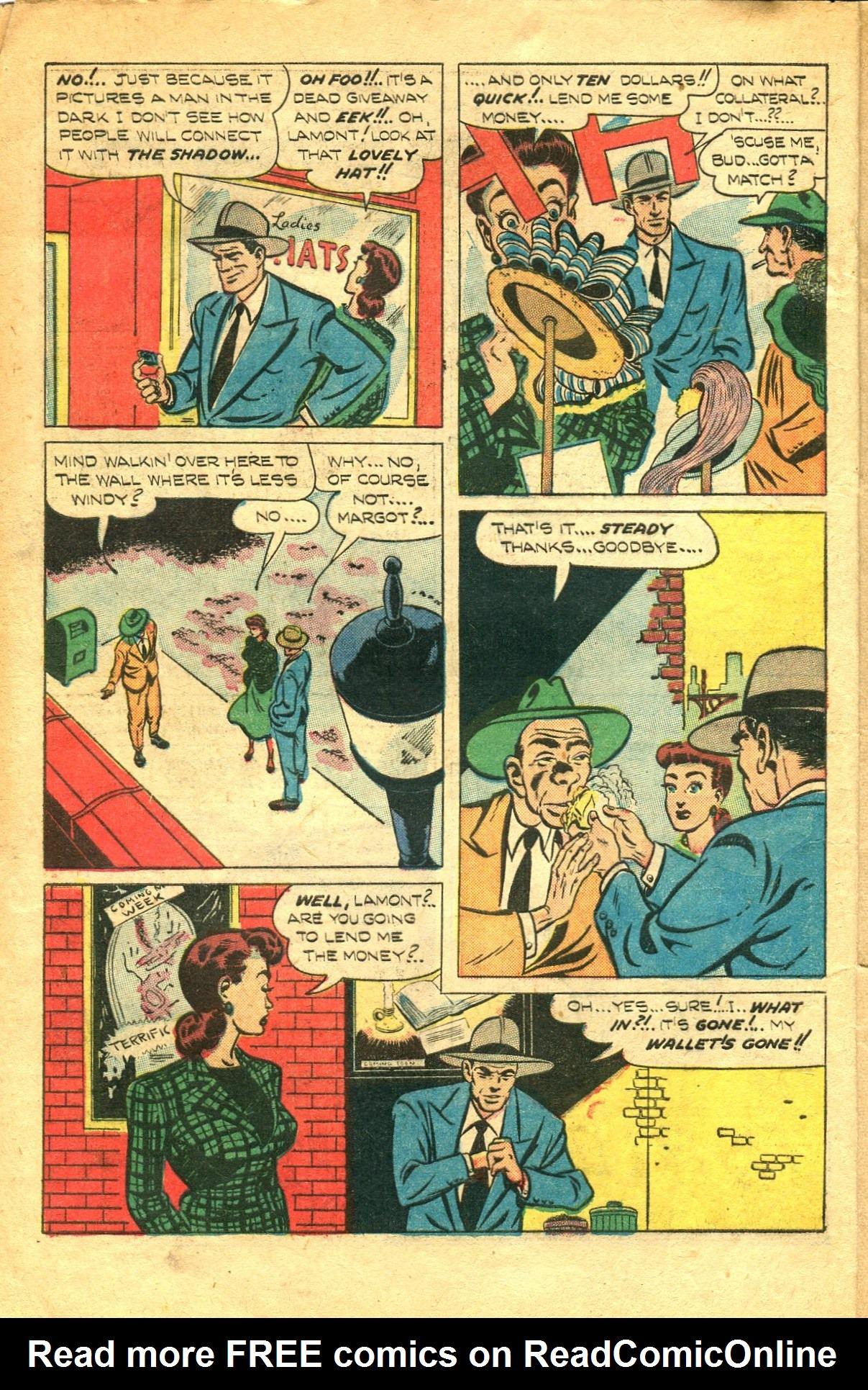 Read online Shadow Comics comic -  Issue #91 - 6
