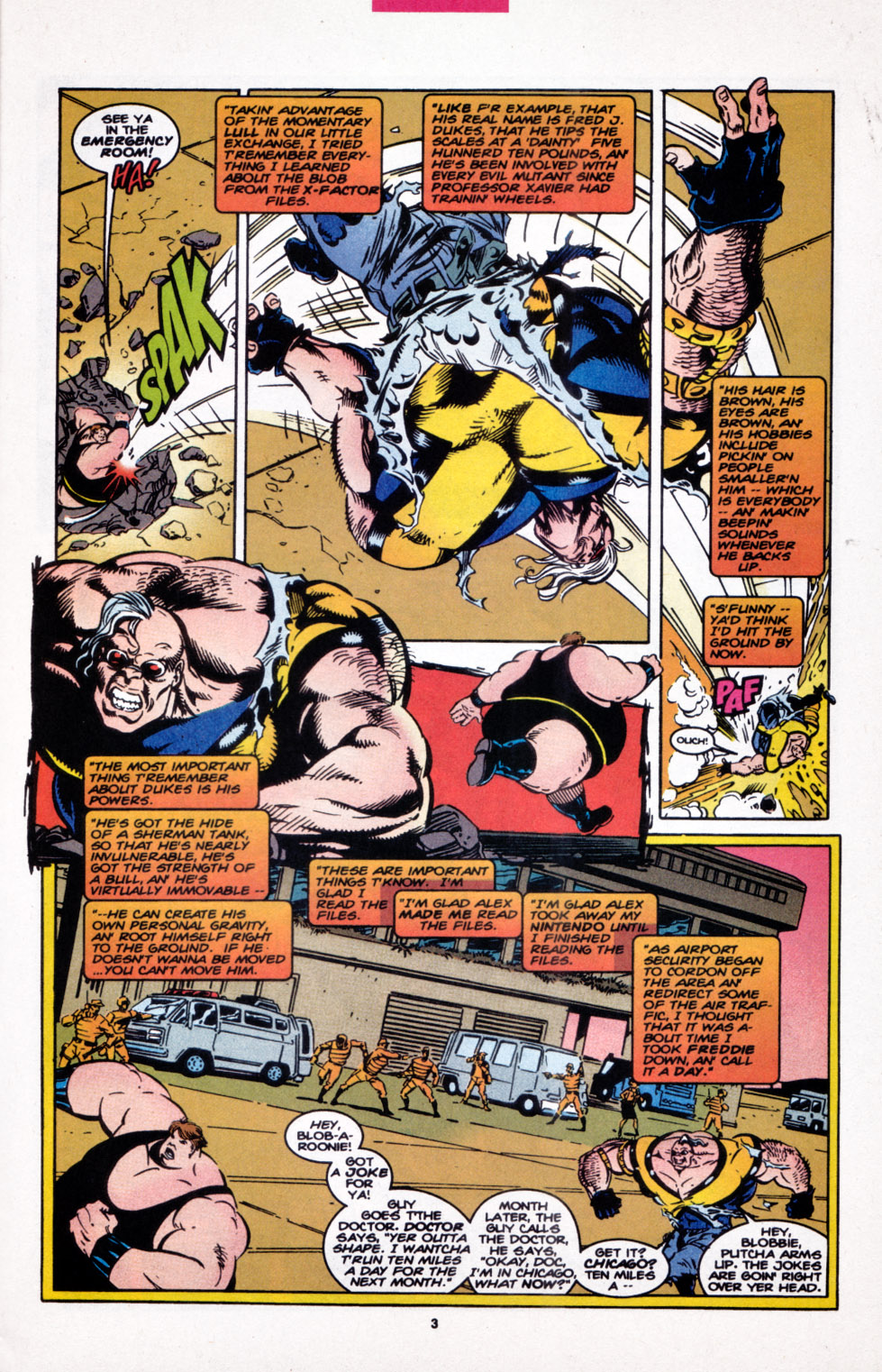Read online X-Factor (1986) comic -  Issue #107 - 4