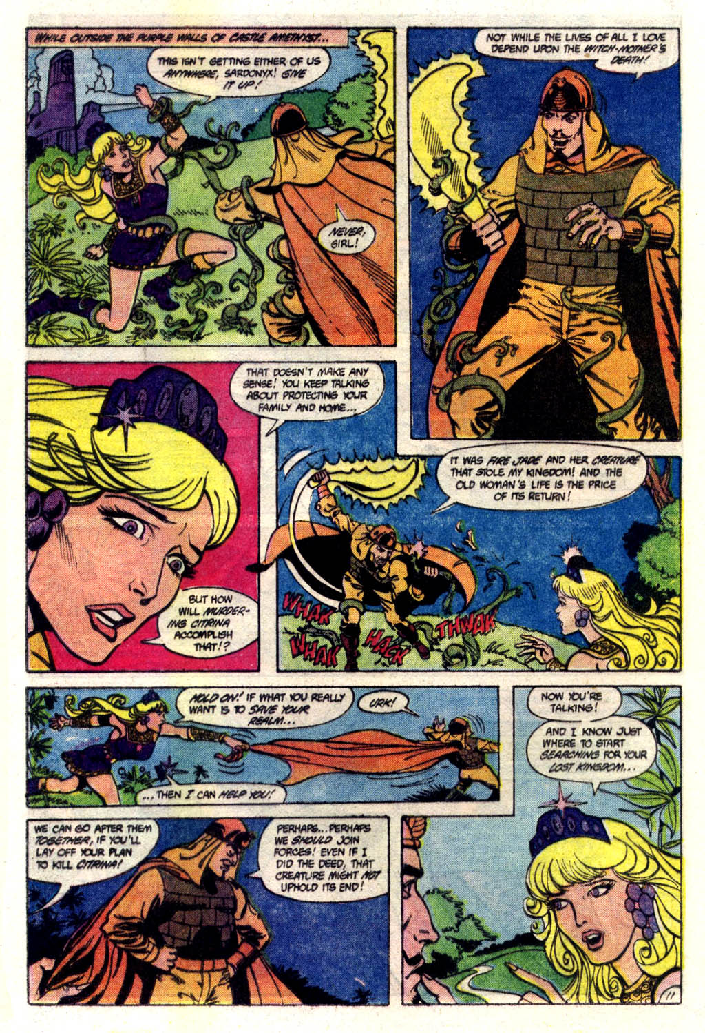 Read online Amethyst (1985) comic -  Issue #6 - 12