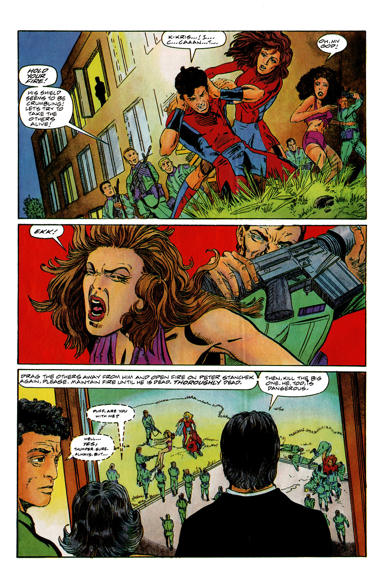 Read online Harbinger (1992) comic -  Issue #6 - 7
