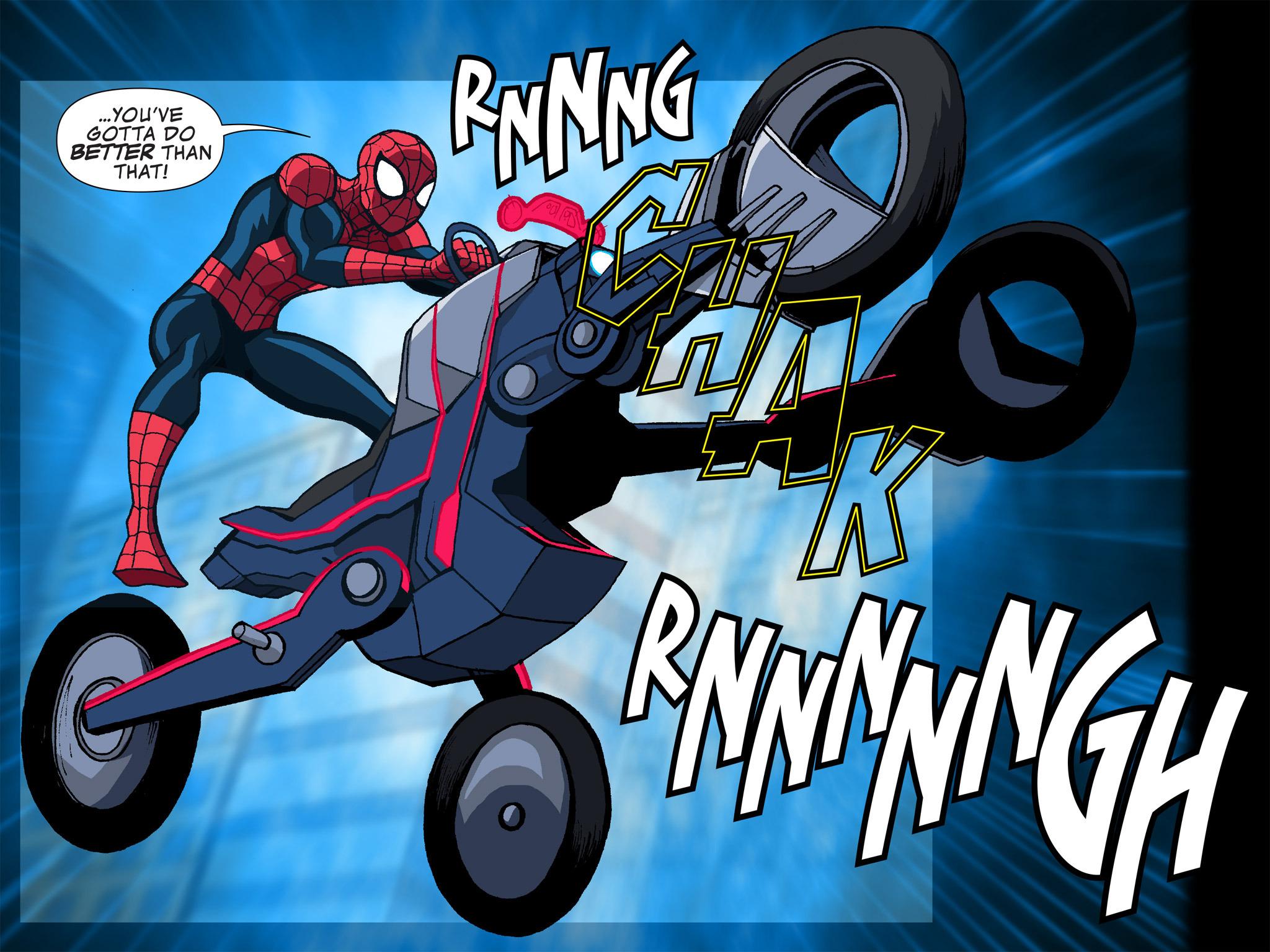Read online Ultimate Spider-Man (Infinite Comics) (2015) comic -  Issue #12 - 11