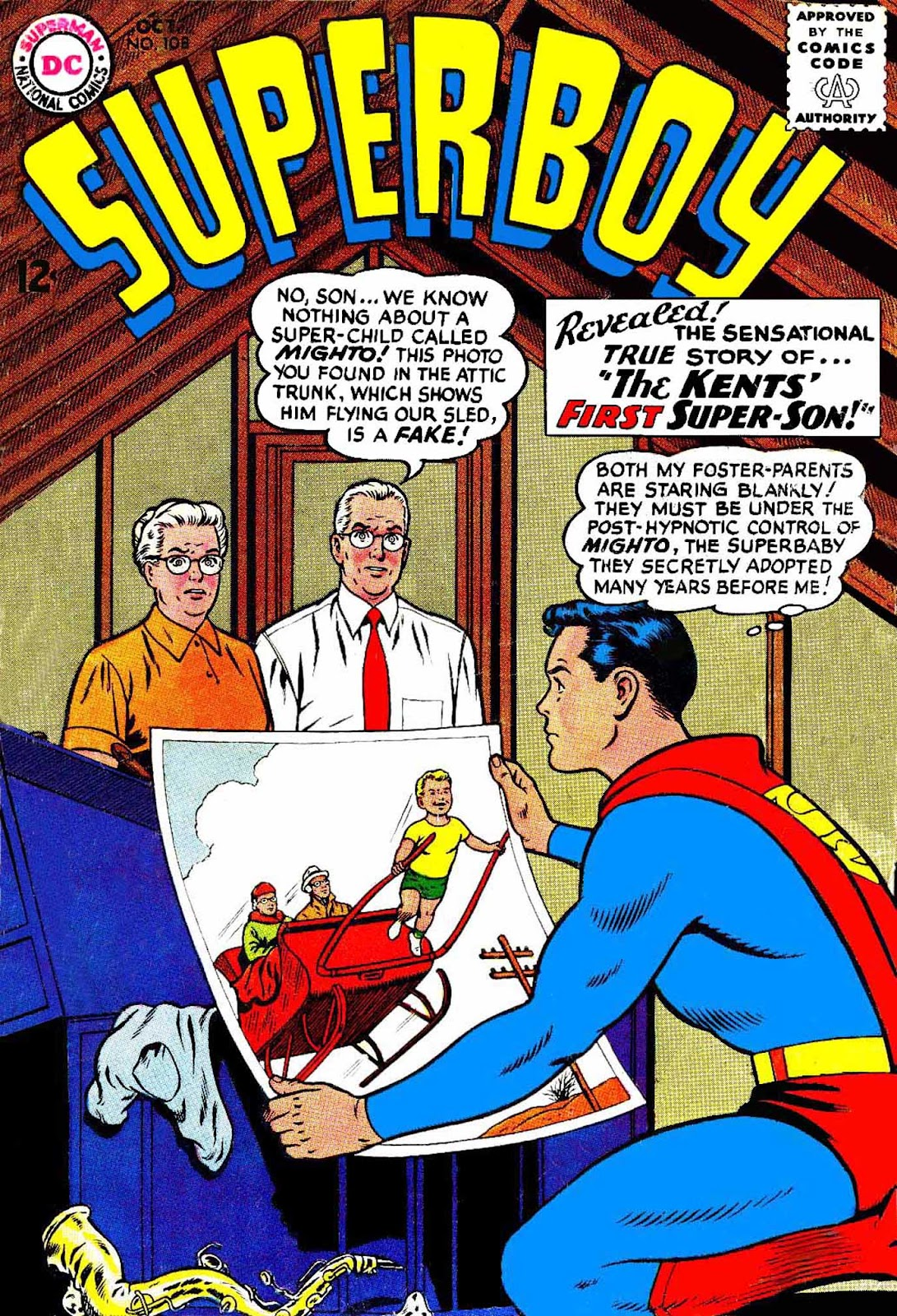 Superboy (1949) issue 108 - Page 1
