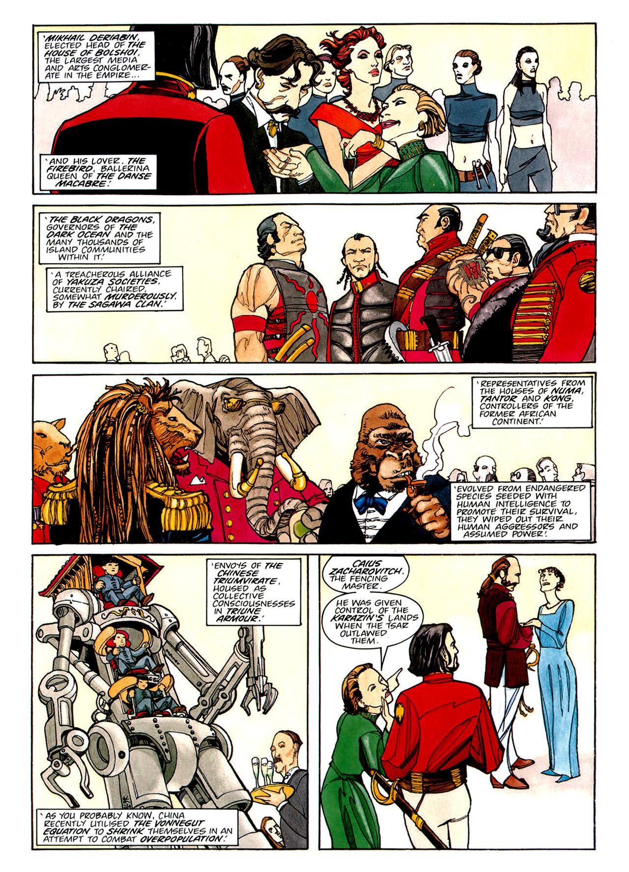 Read online Nikolai Dante comic -  Issue # TPB 1 - 135