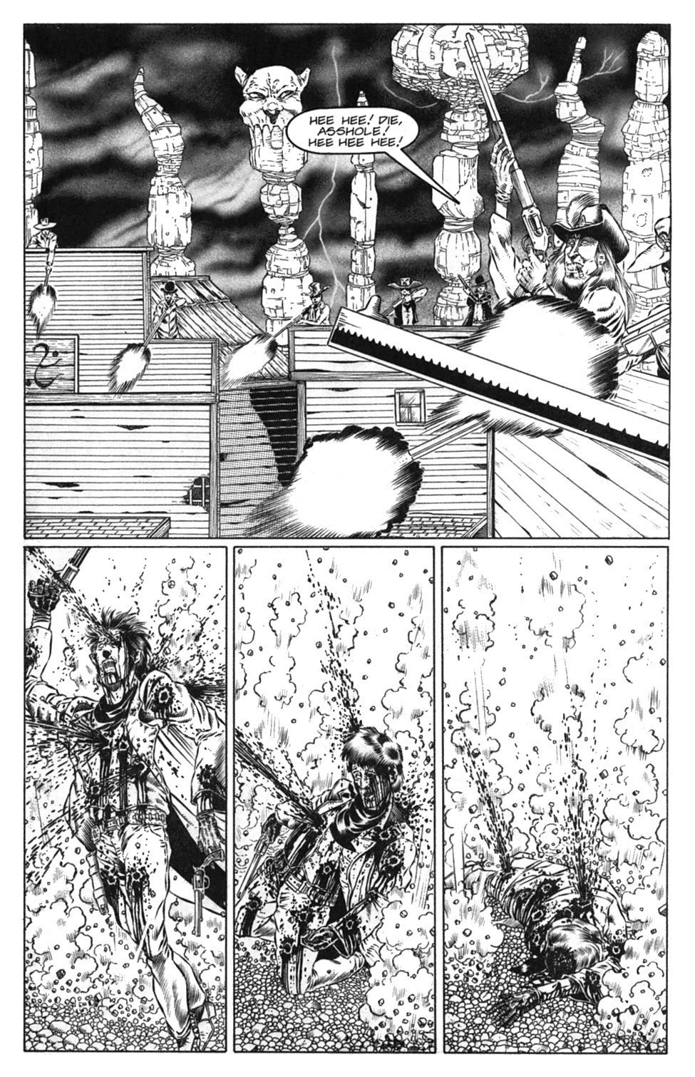 Read online Gunfighters in Hell comic -  Issue #3 - 27