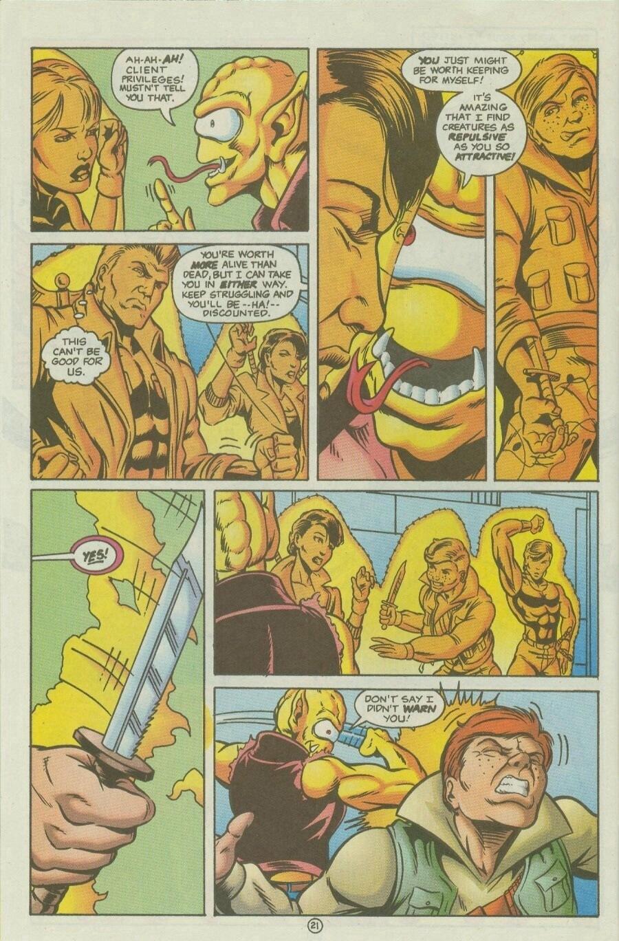 Read online Ex-Mutants comic -  Issue #10 - 25