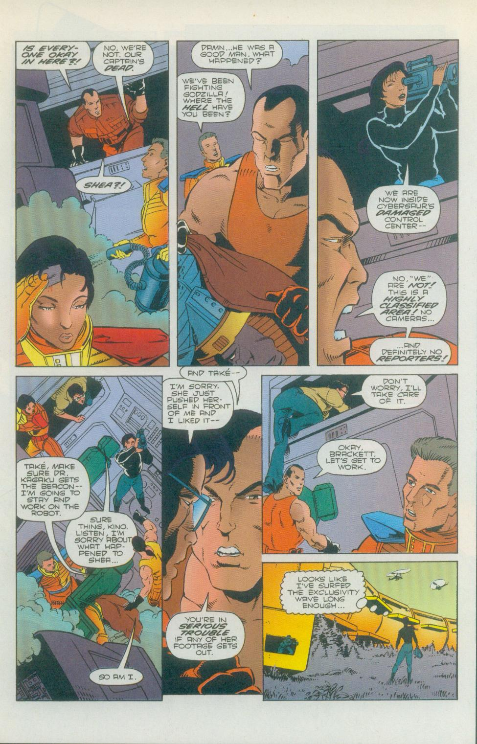 Godzilla (1995) Issue #2 #3 - English 10