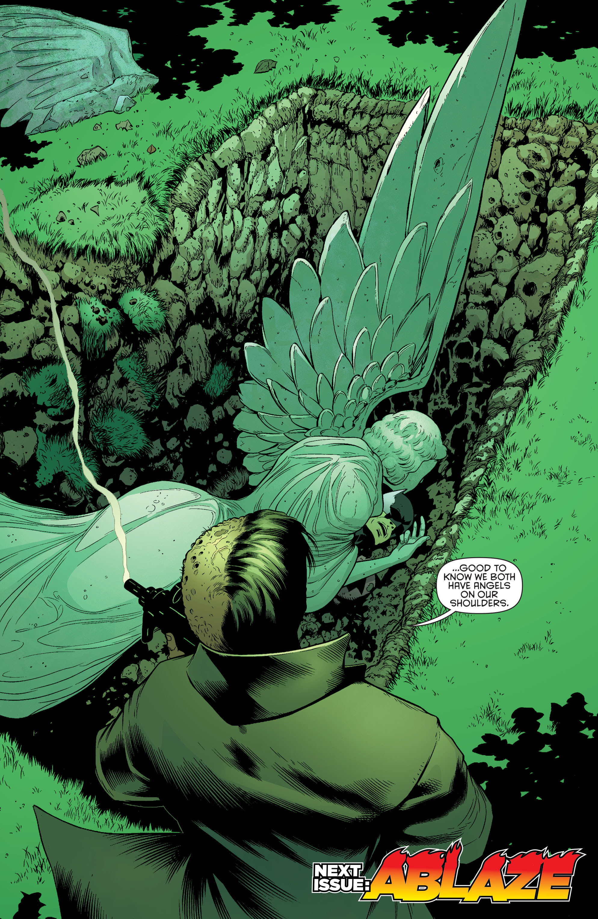 Read online Batman and Robin (2011) comic -  Issue #26 - Batman and Two-Face - 19