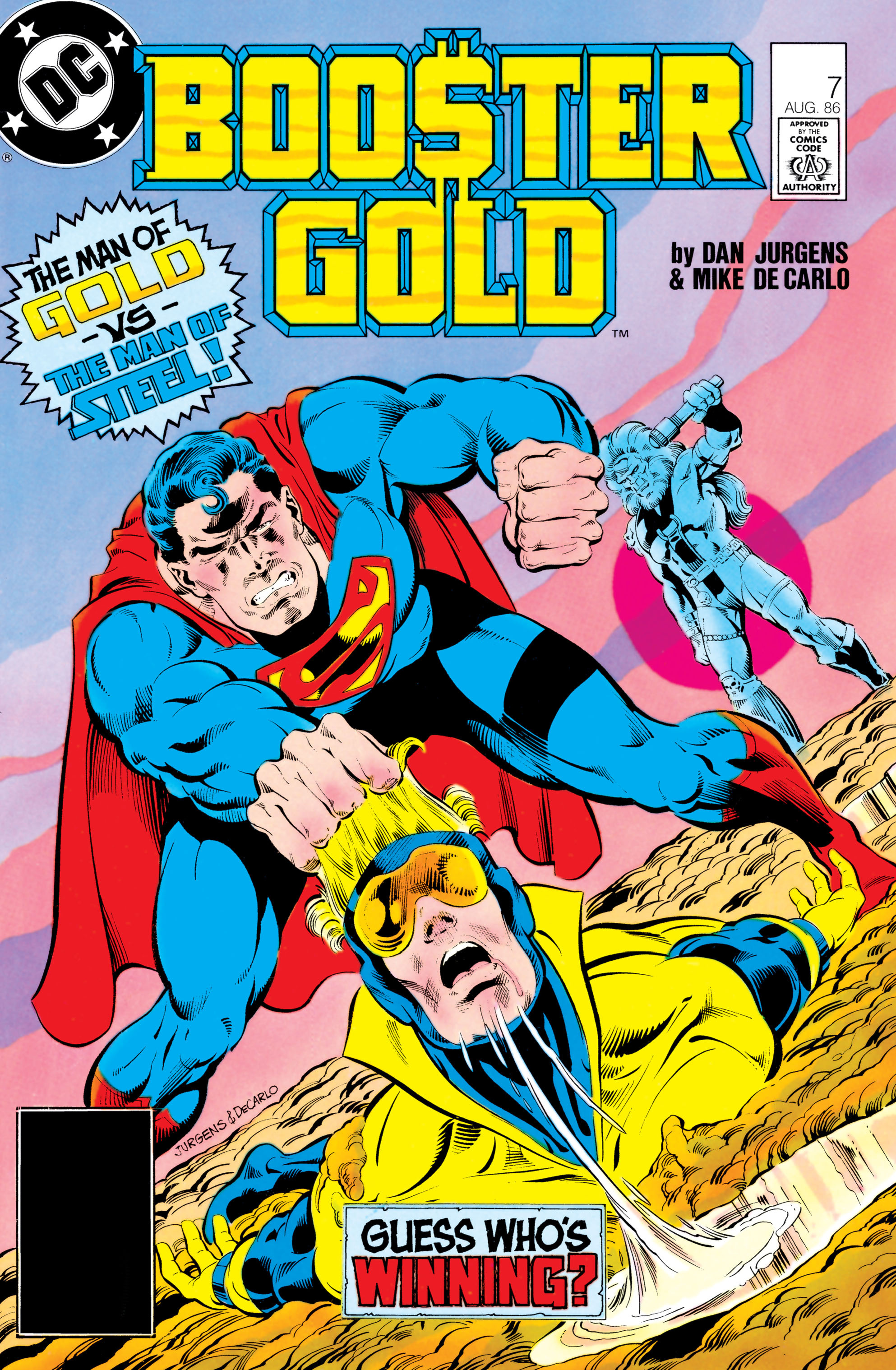 Booster Gold 1986 Issue 7