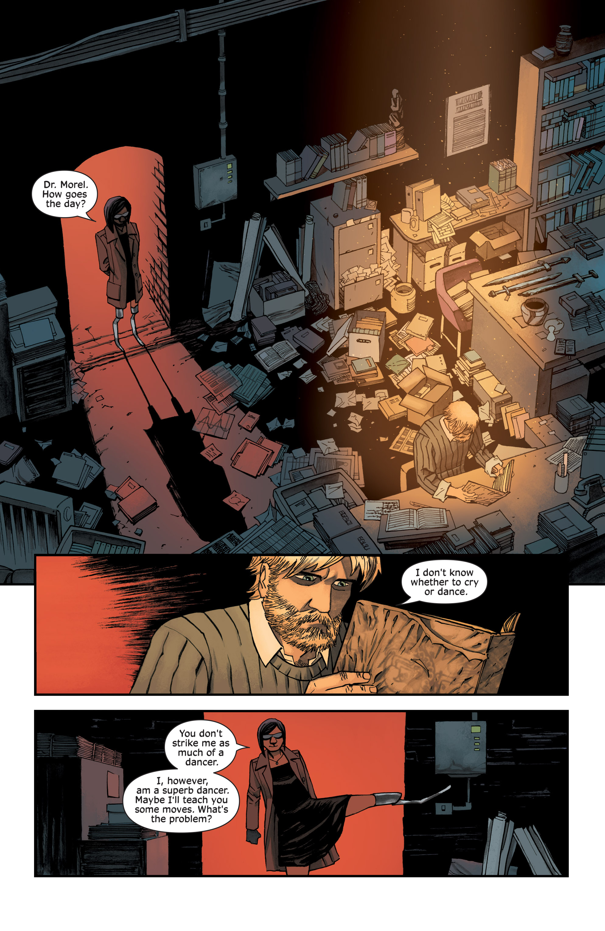 Read online Injection comic -  Issue #13 - 11