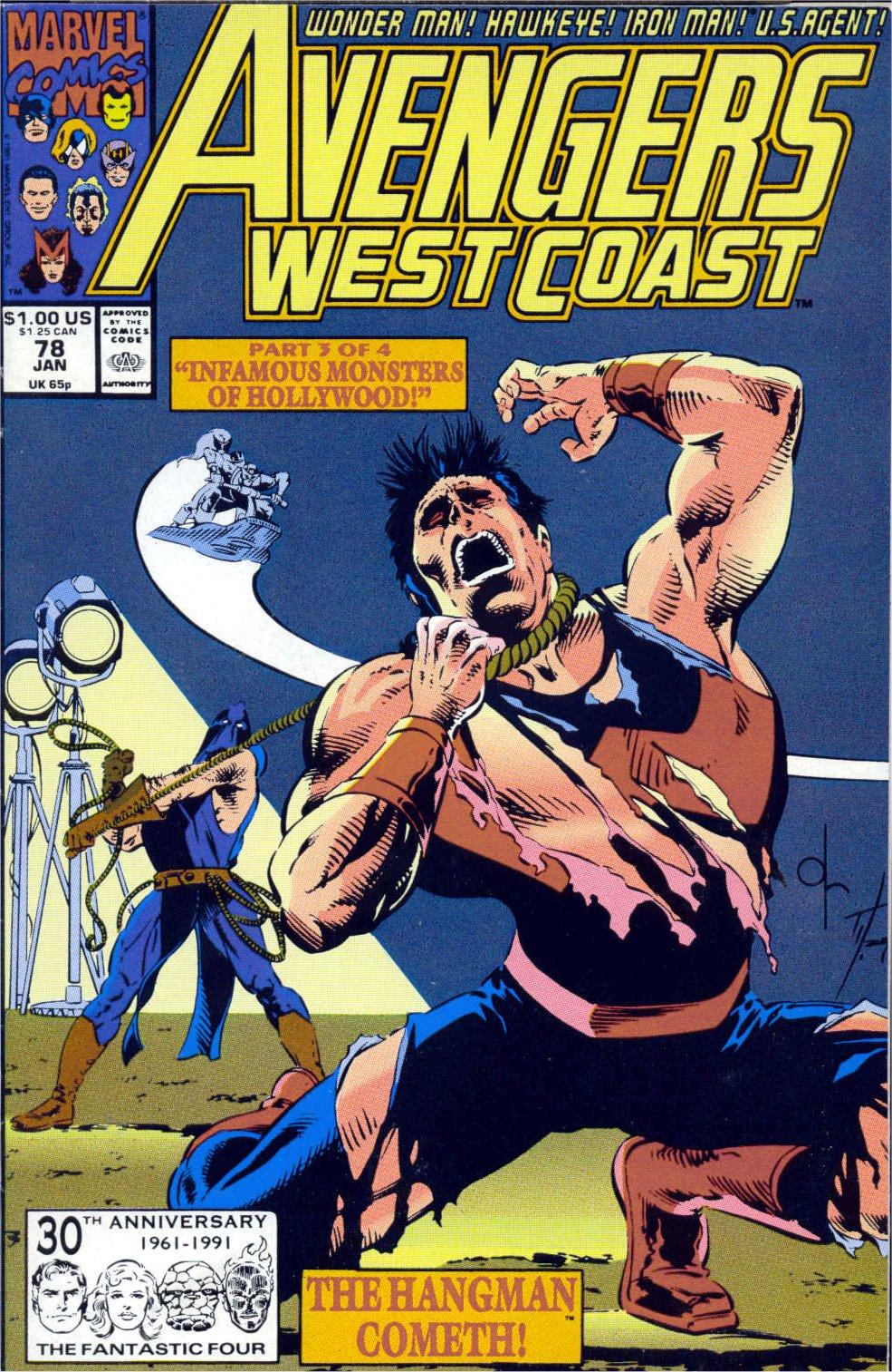 Avengers West Coast (1989) 78 Page 1