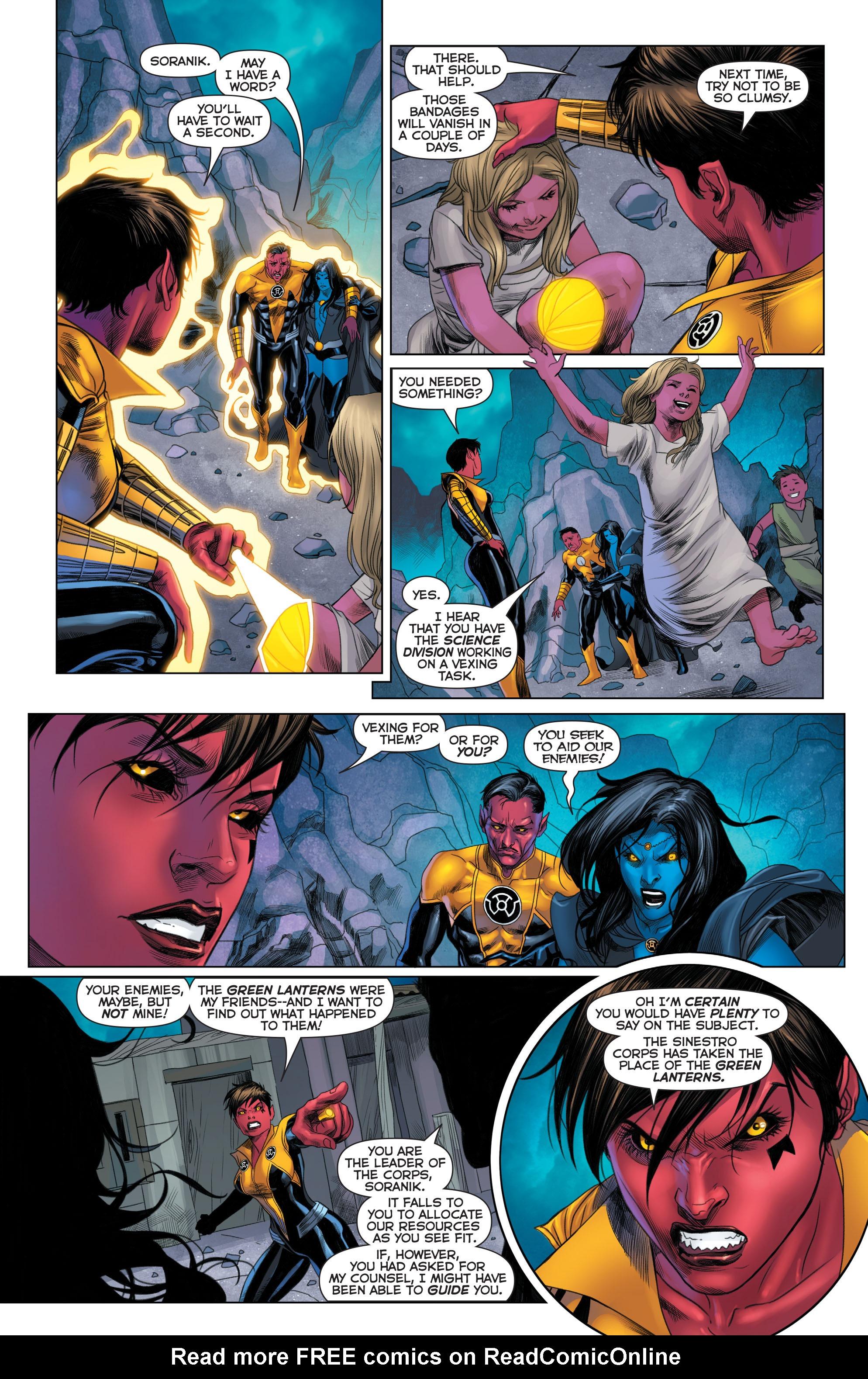 Read online Sinestro comic -  Issue #22 - 15