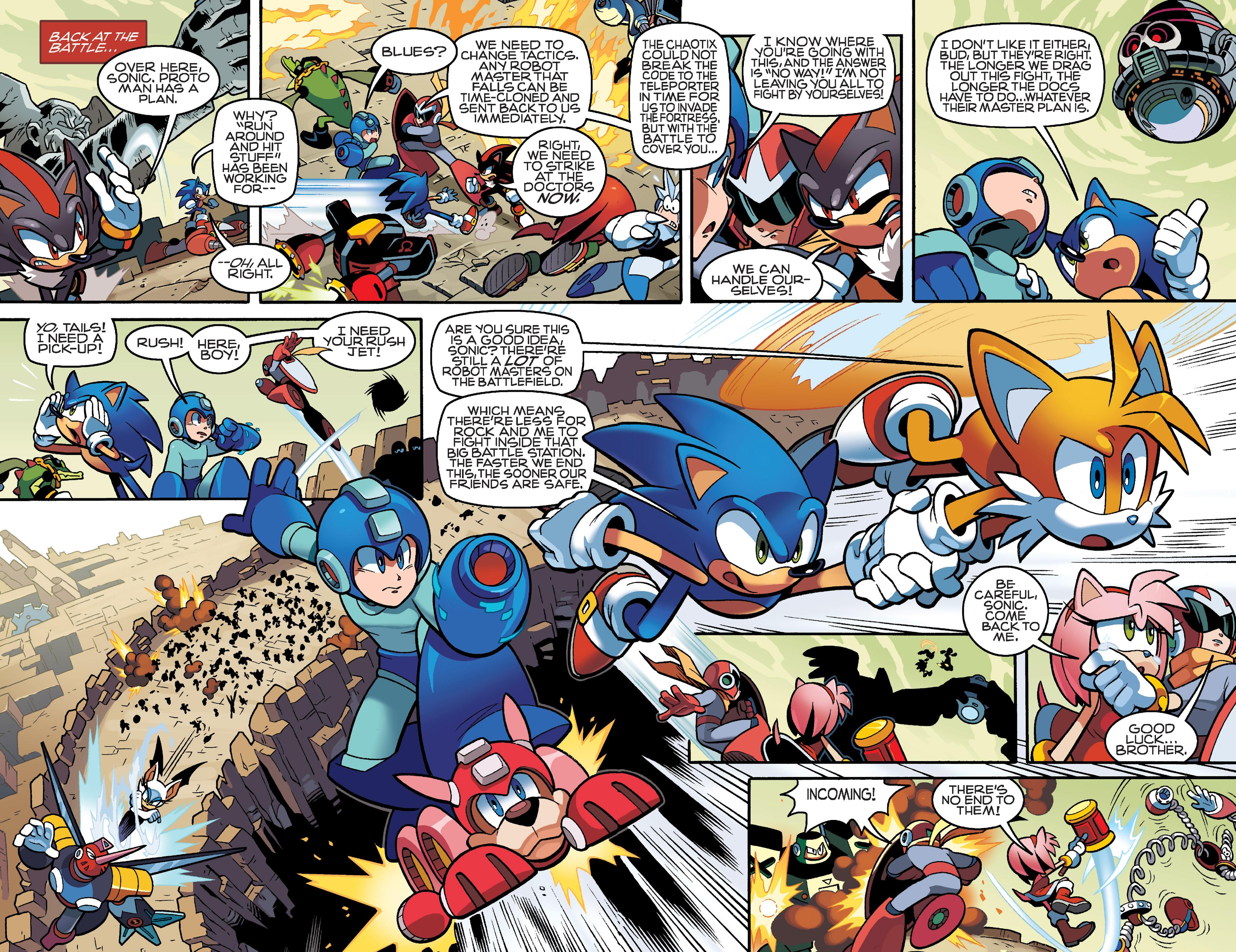 Read online Sonic Mega Man Worlds Collide comic -  Issue # Vol 3 - 27