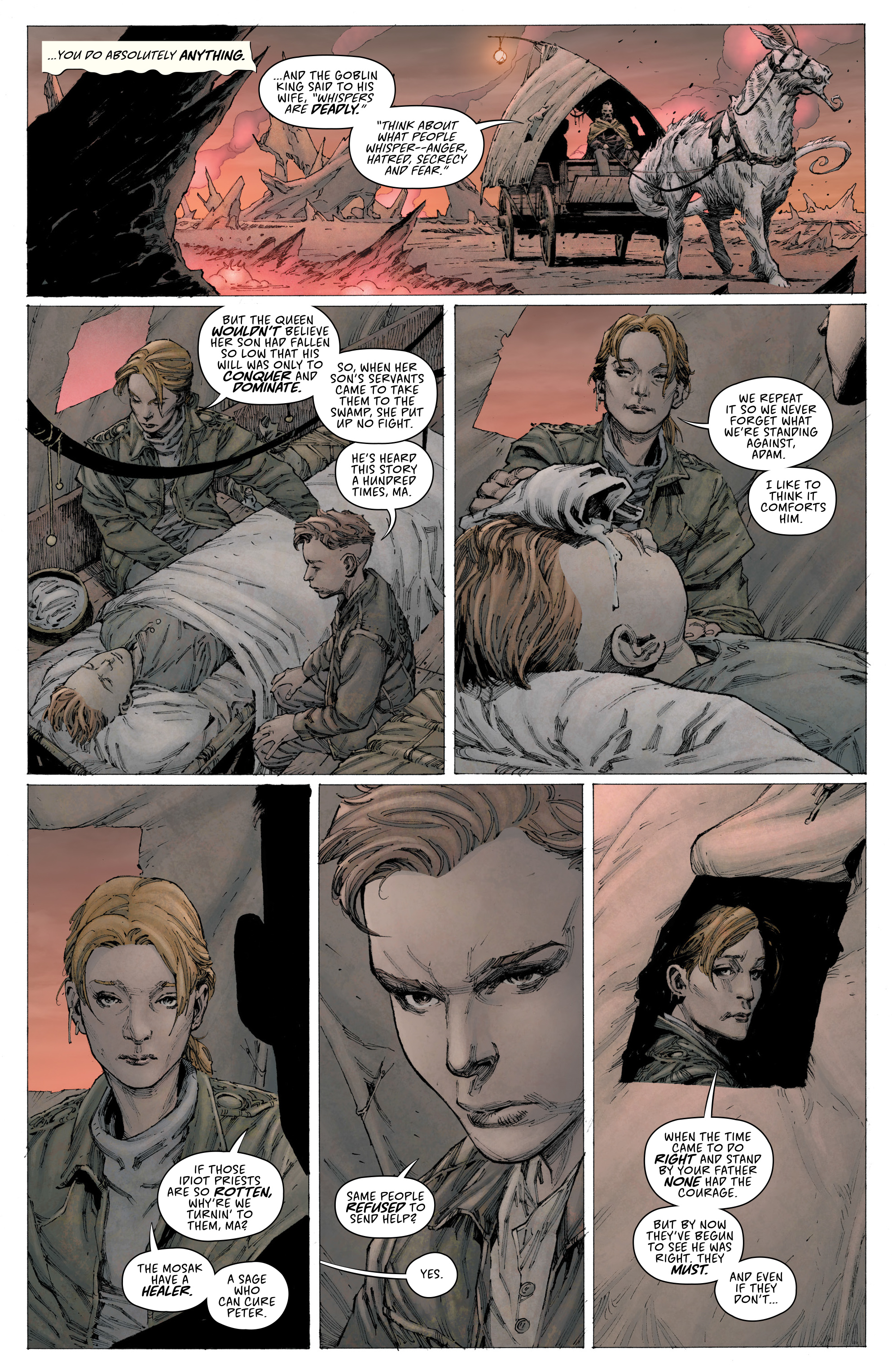 Read online Seven To Eternity comic -  Issue #3 - 4
