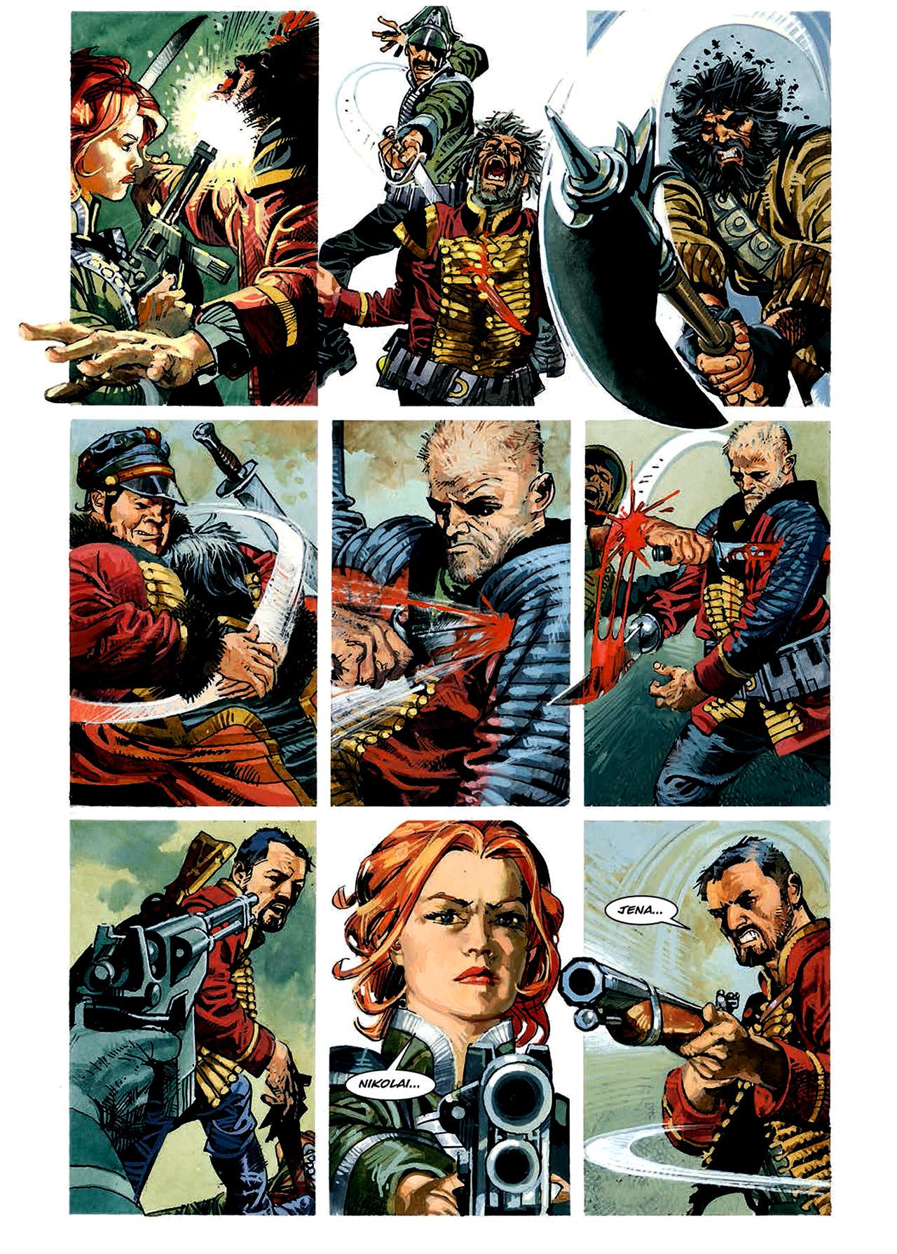 Read online Nikolai Dante comic -  Issue # TPB 4 - 76