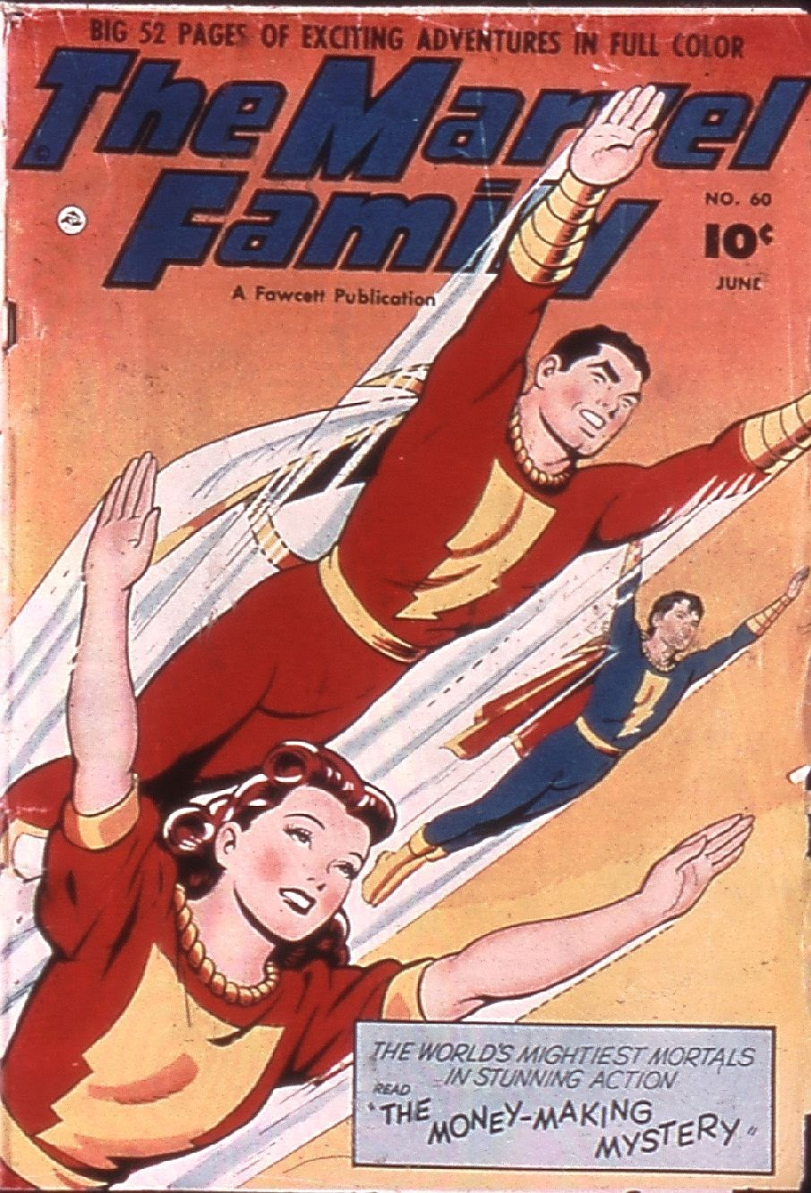 The Marvel Family issue 60 - Page 1