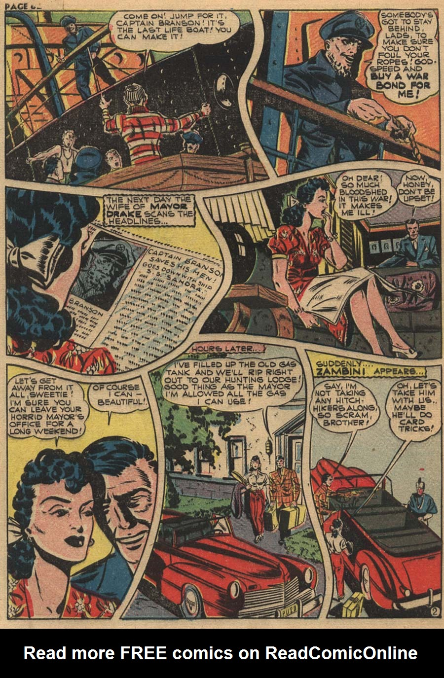 Zip Comics issue 31 - Page 62