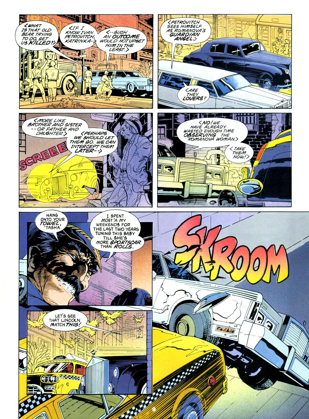 Read Online Marvel Graphic Novel Comic Issue 61 Black