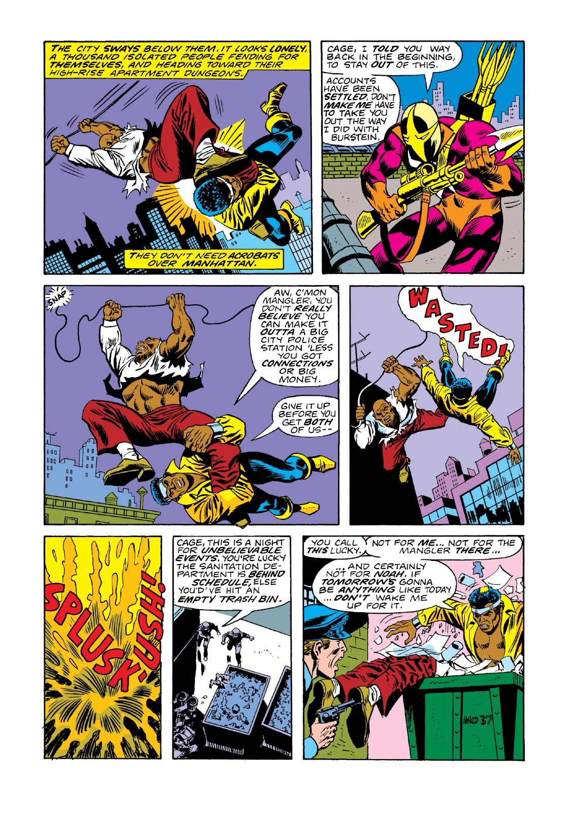 Read online Marvel Masterworks: Luke Cage, Power Man comic -  Issue # TPB 3 (Part 1) - 69