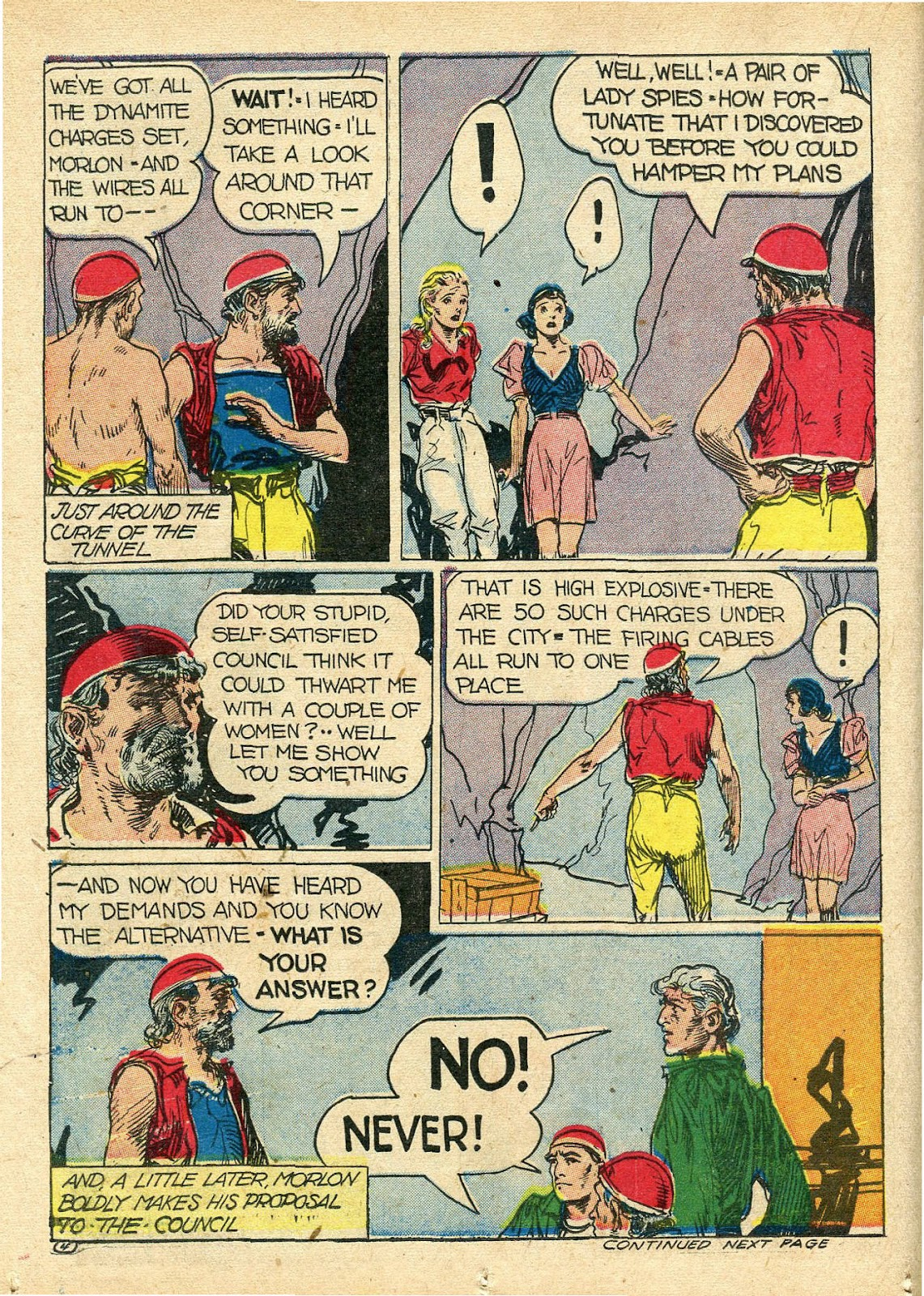 Read online Famous Funnies comic -  Issue #112 - 32