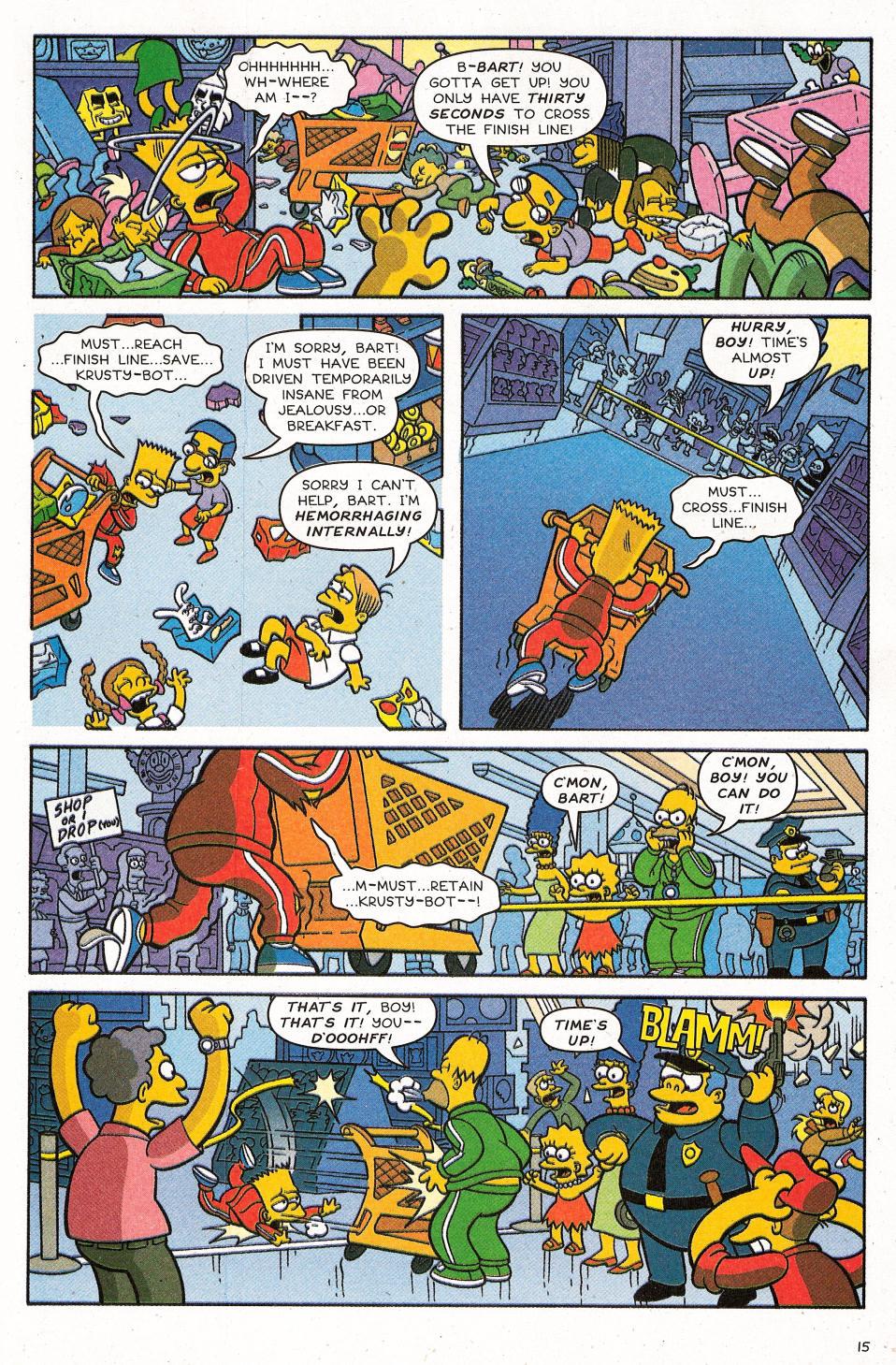 Read online Simpsons Comics Presents Bart Simpson comic -  Issue #31 - 17