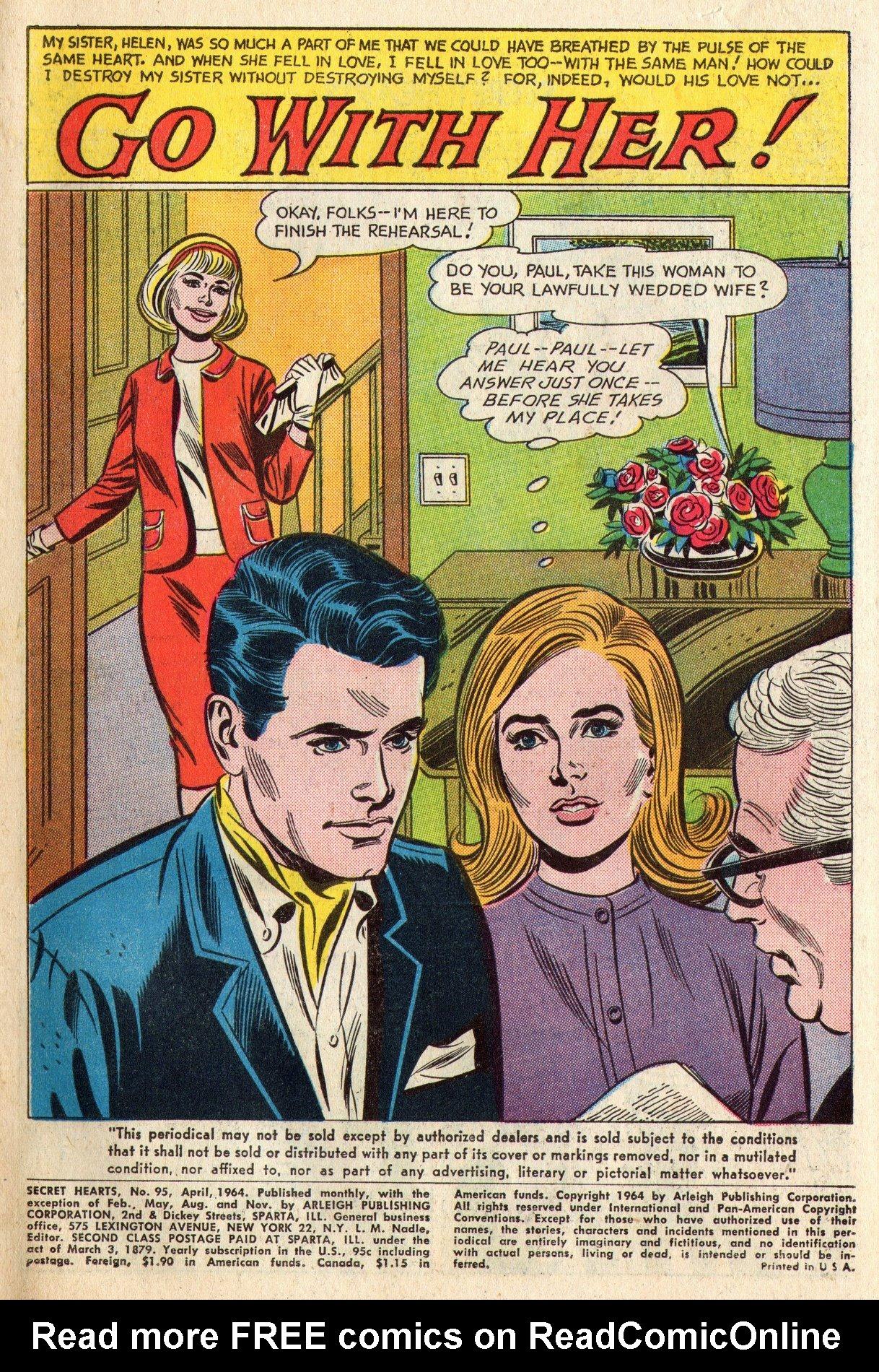 Read online Secret Hearts comic -  Issue #95 - 3