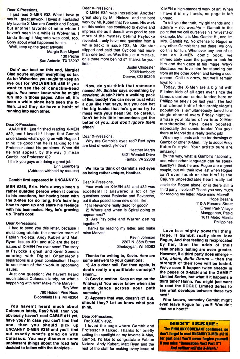 X-Men (1991) 35 Page 23