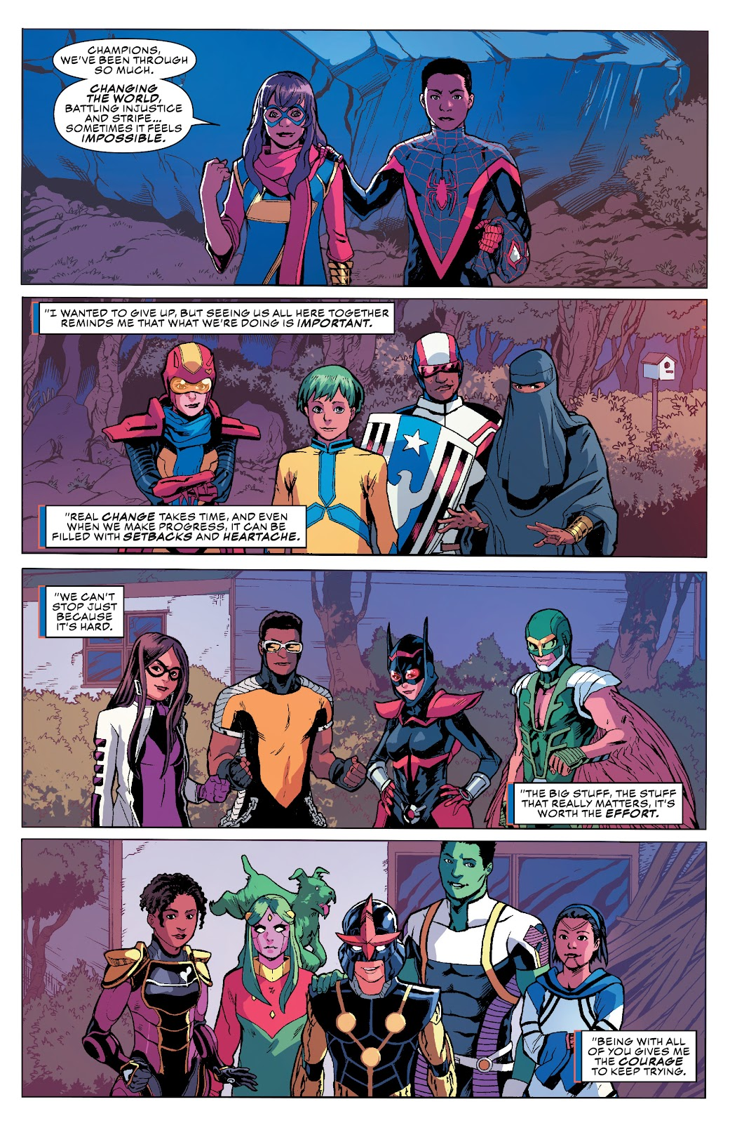 Read online Champions (2019) comic -  Issue #10 - 19