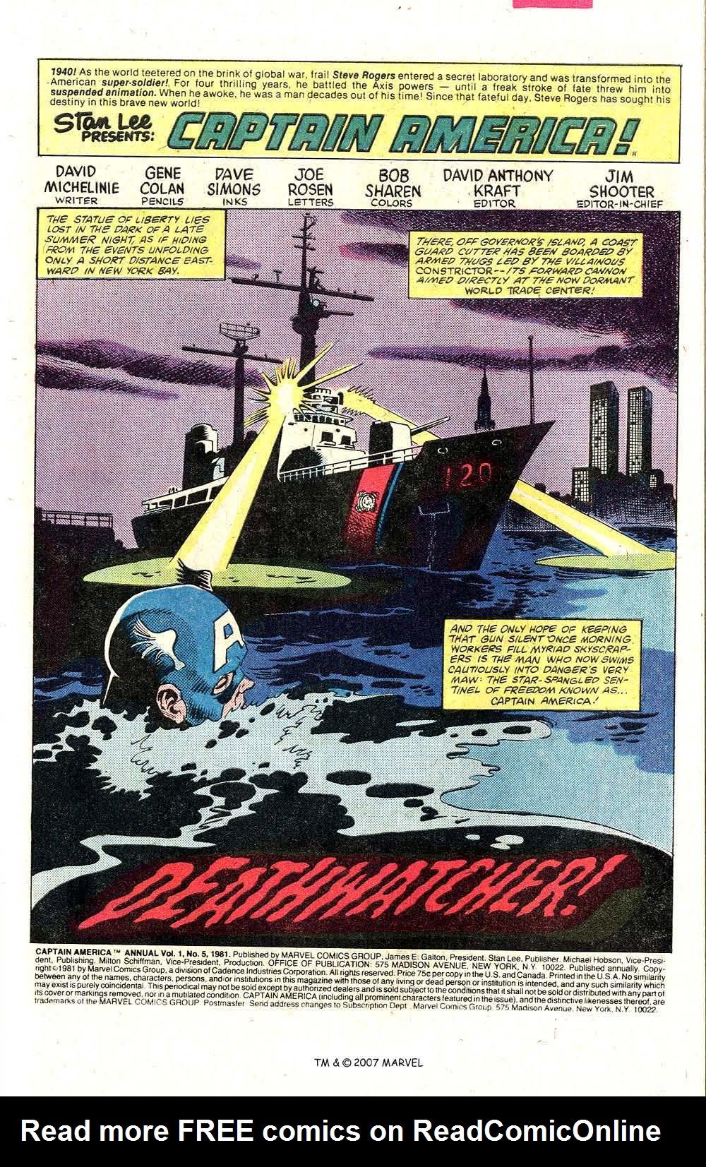 Read online Captain America (1968) comic -  Issue # _Annual 5 - 3